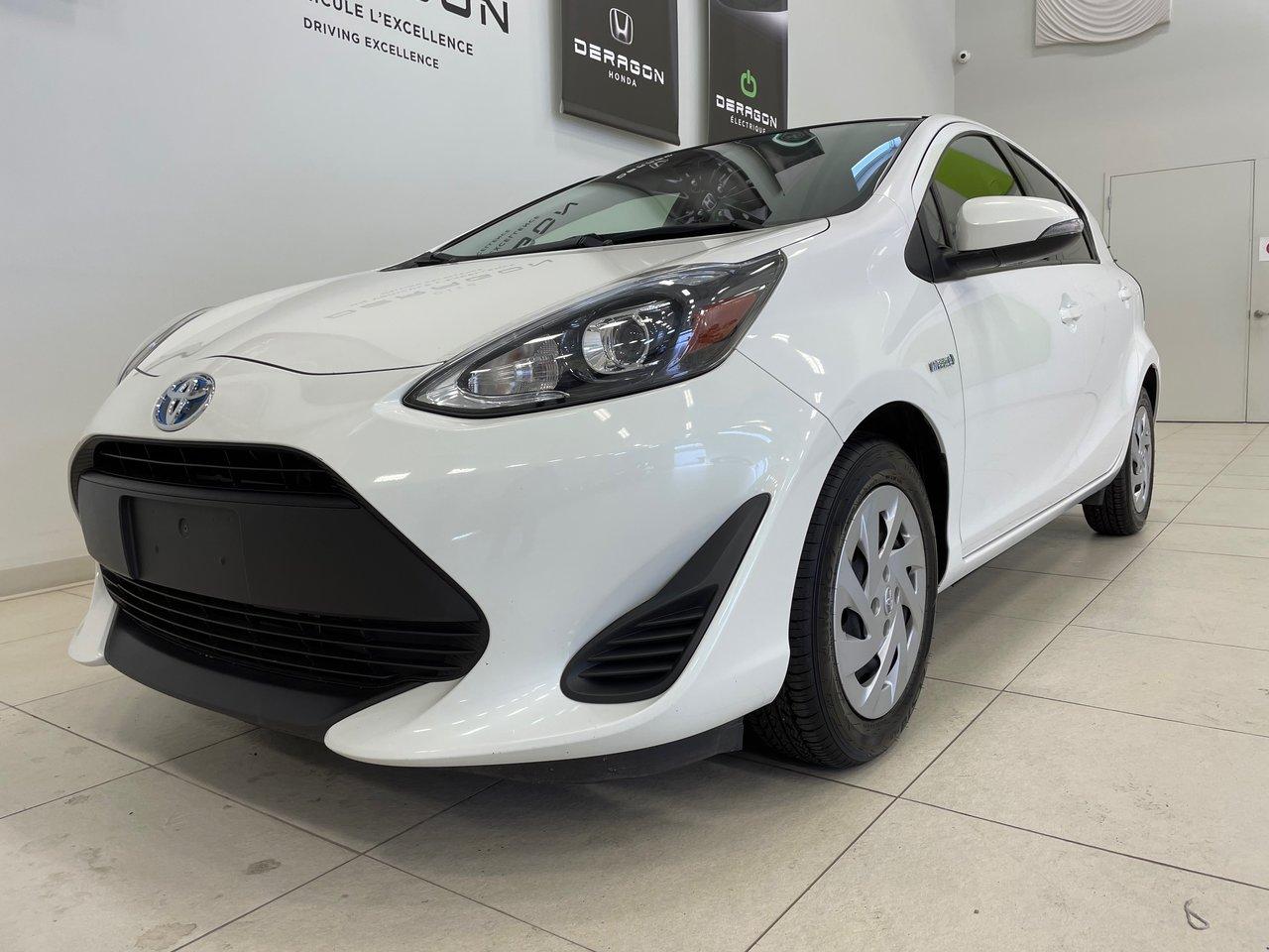 Toyota Prius c 2018 HYBRIDE, AUTOMATIQUE,