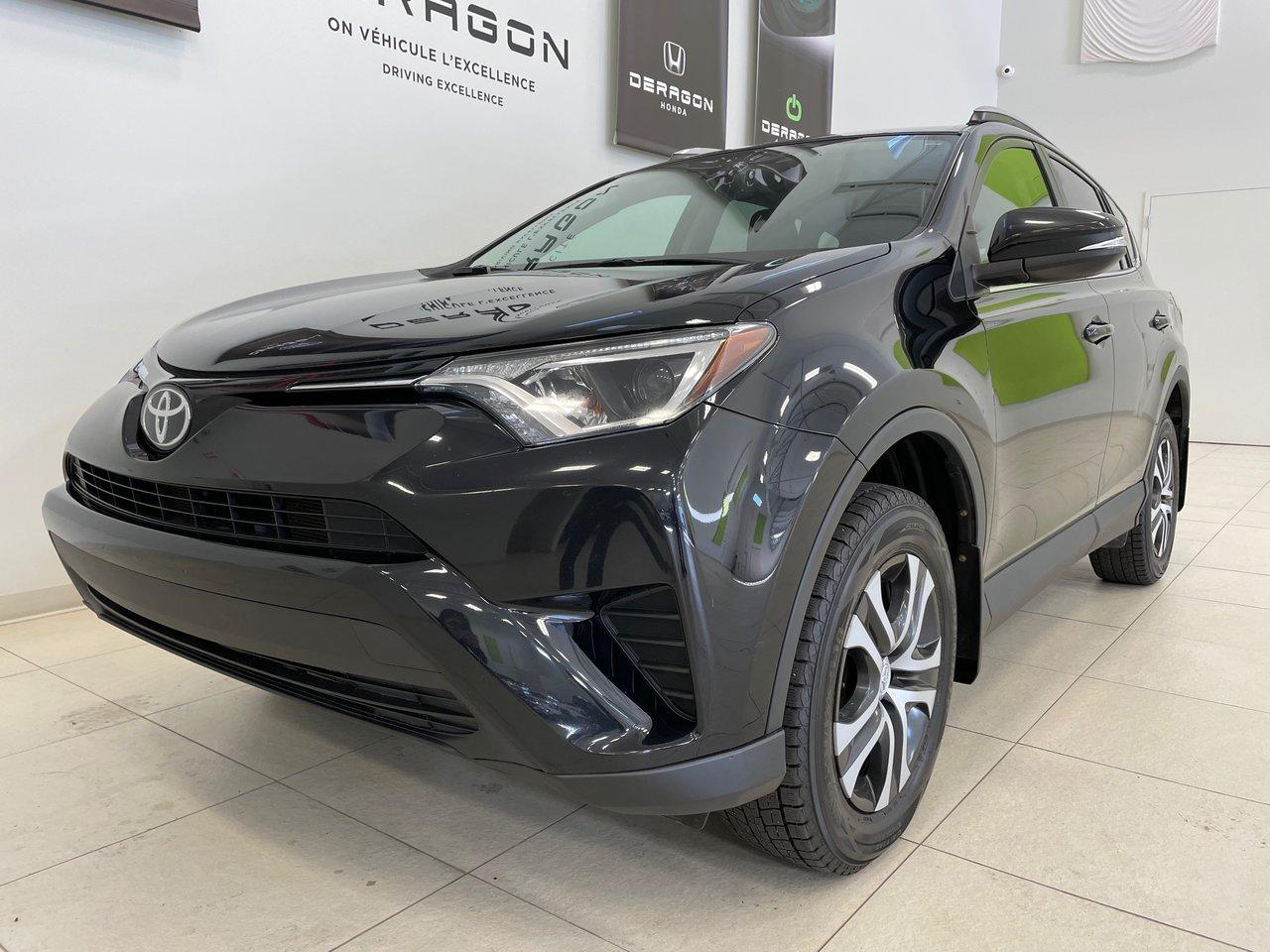 Toyota RAV4 2017 LE, SIÈGES CHAUFFANTS, CAMÉRA, LANE ASSIST, H