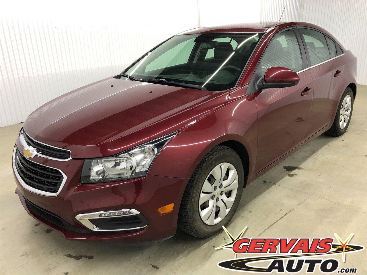Chevrolet Cruze 2016 Limited LT Bluetooth A/C Cam?ra de recul