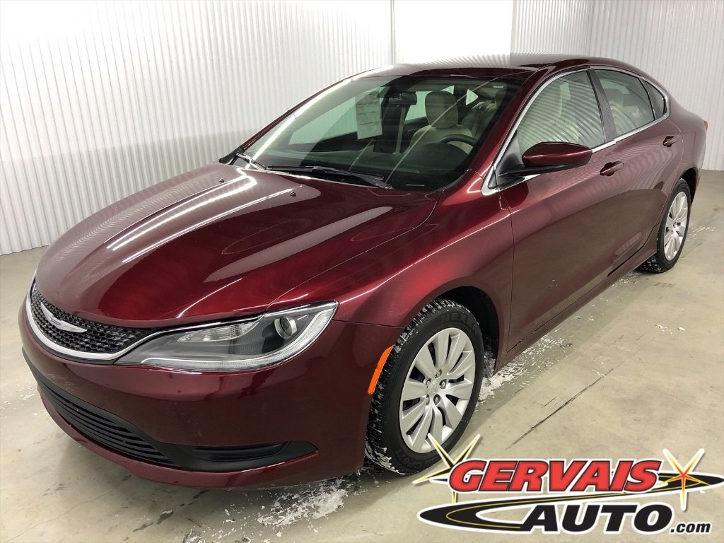 Chrysler 200 2016 LX A/C *Bas Kilom?trage*