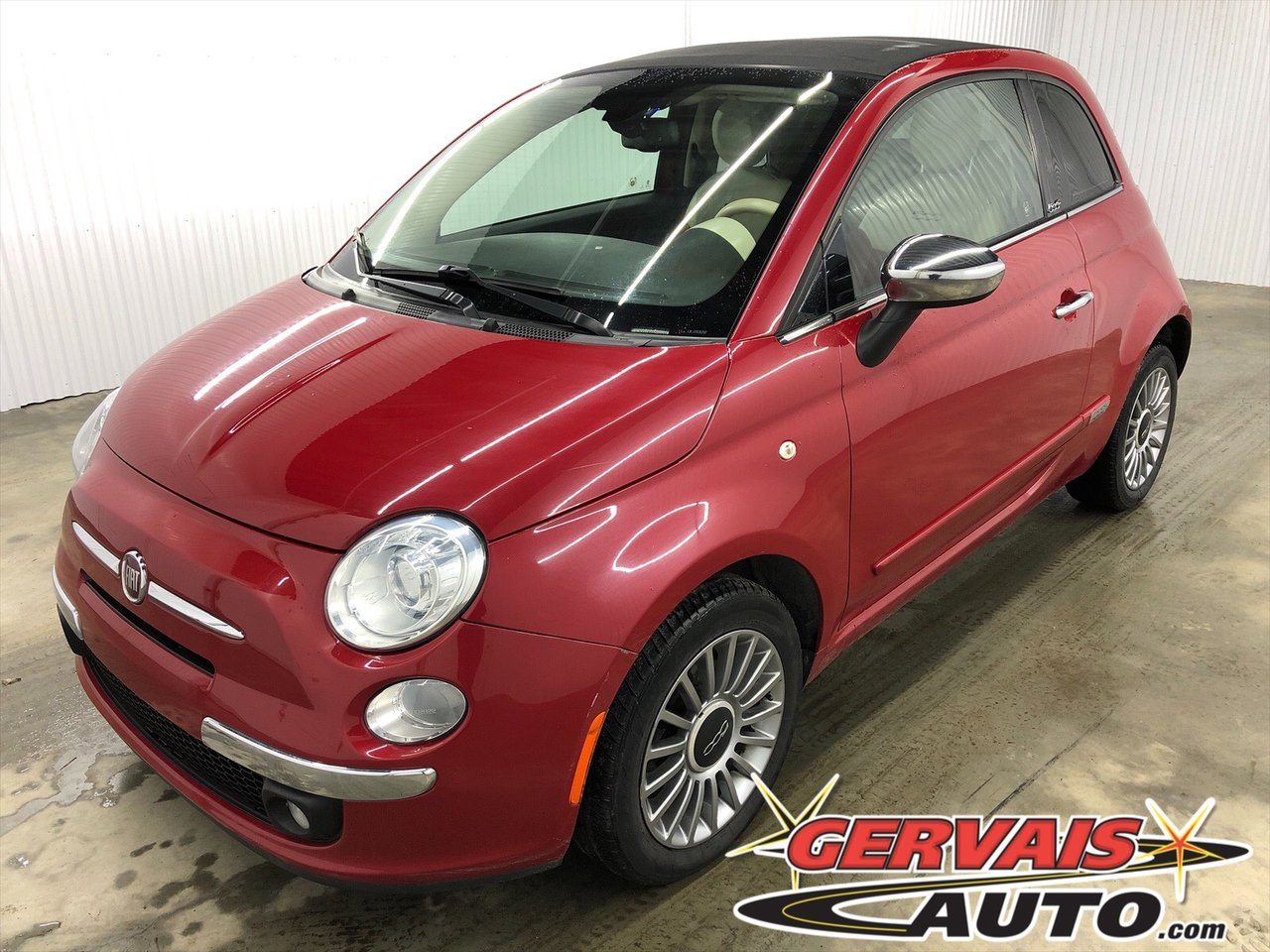 Fiat 500C 2013 Convertible Cuir MAGS *Bas Kilom?trage*