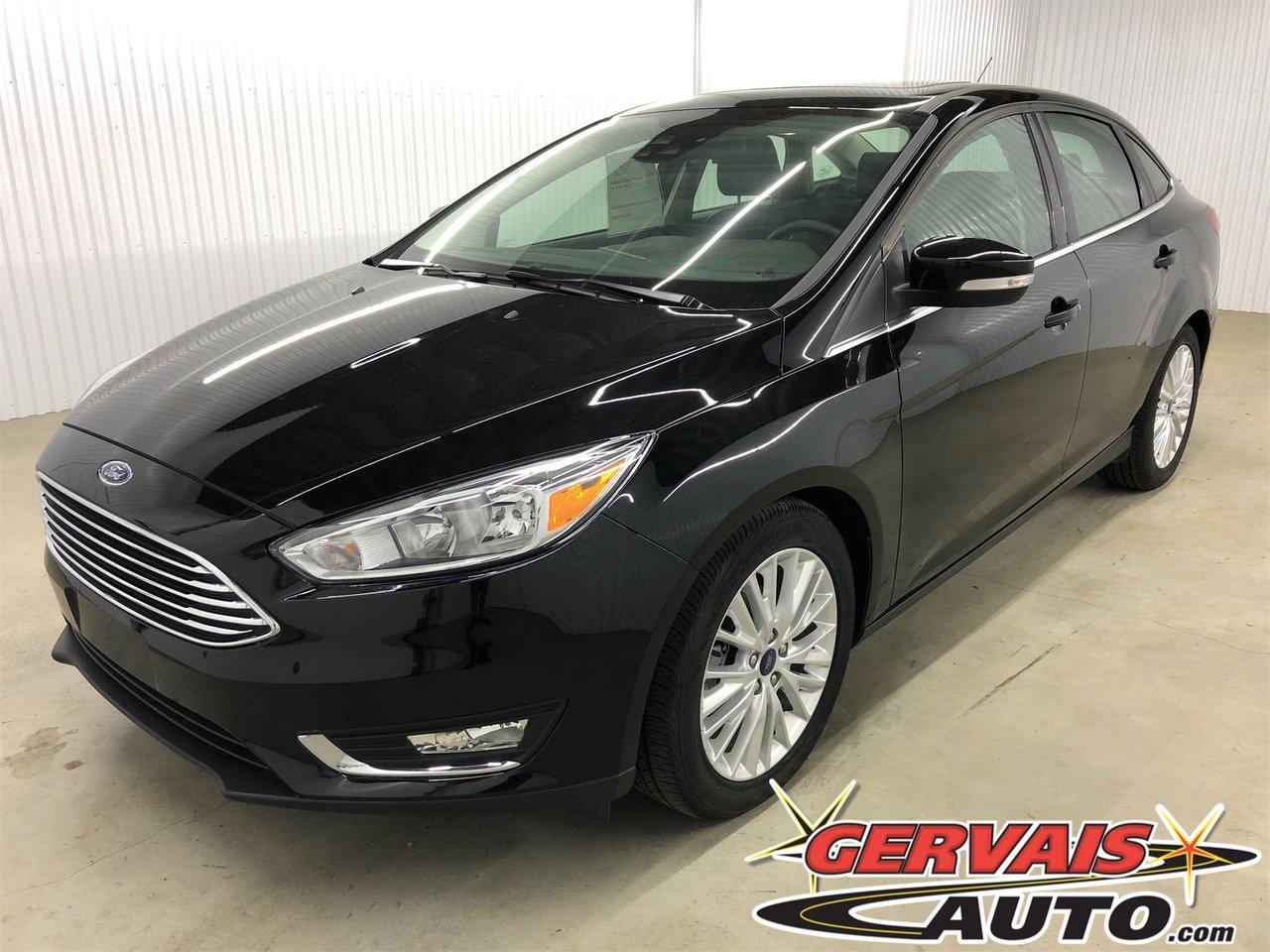 Ford Focus 2018 Titanium GPS Cuir Toit Ouvrant Cam?ra MAGS