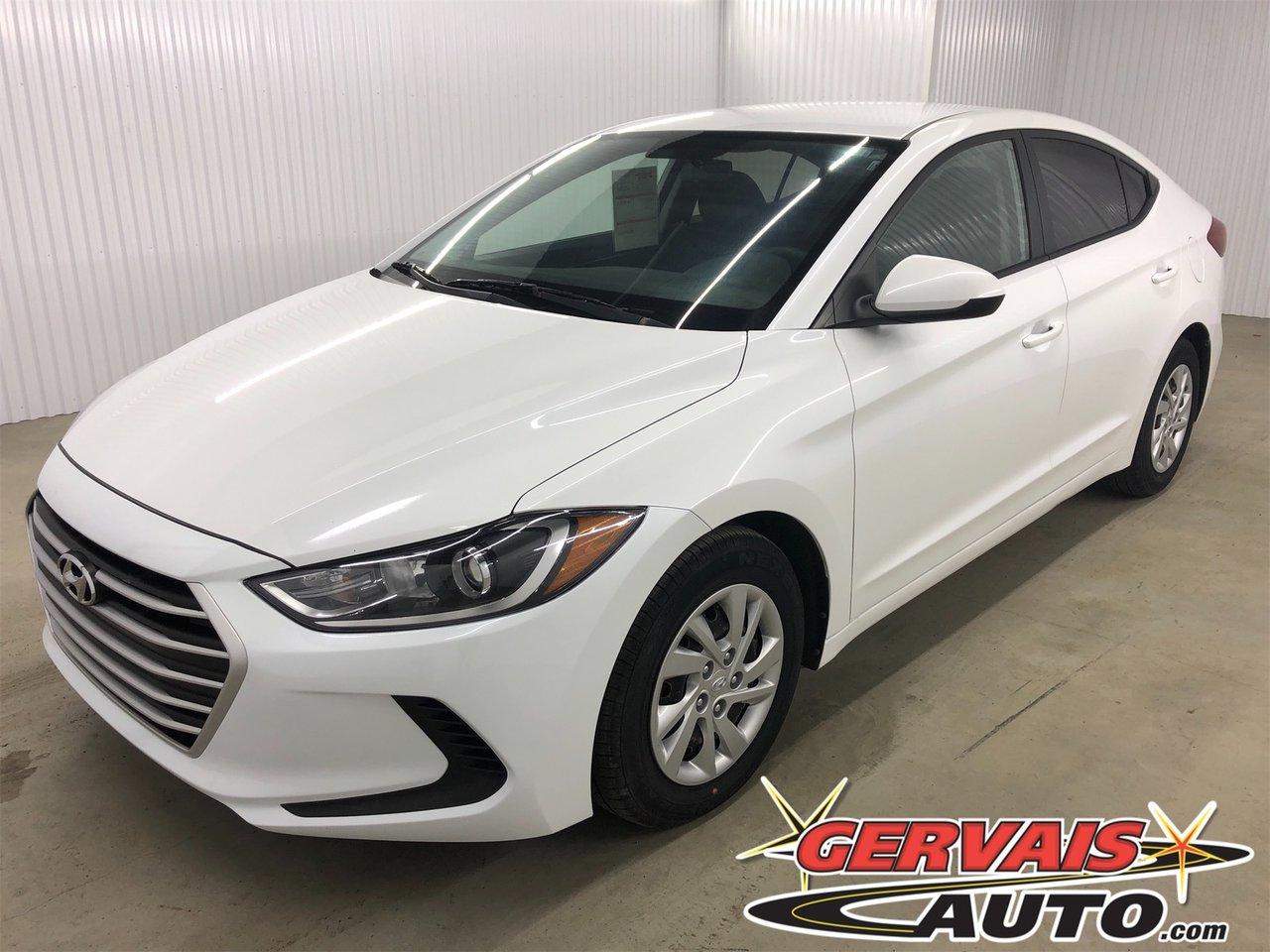 Hyundai Elantra 2017 LE A/C Automatique