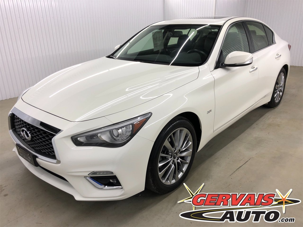 Infiniti Q50 2018 2.0t AWD LUXE GPS Bluetooth Cuir Toit Ouvrant Cam?ra MAGS