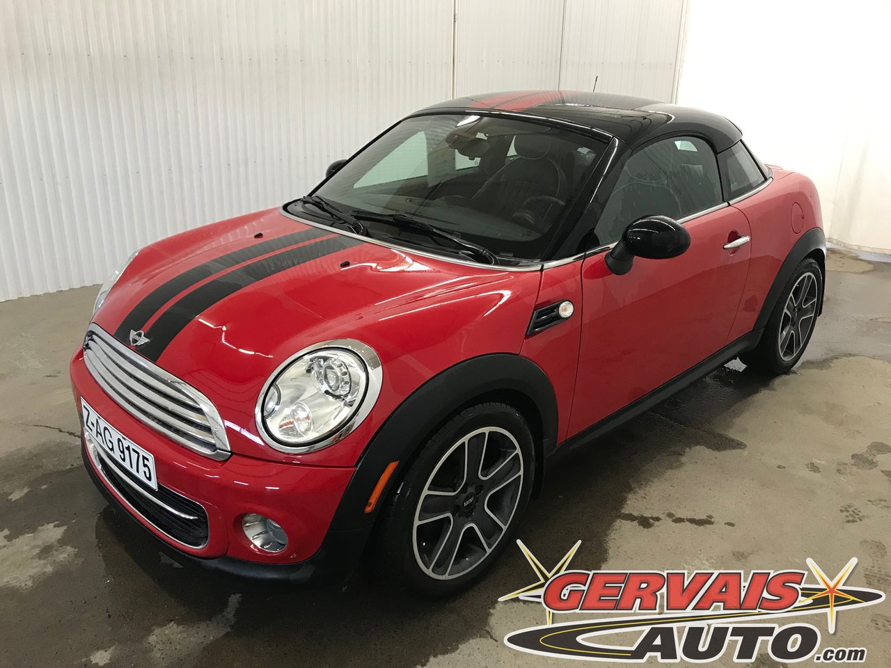 MINI Cooper Coup? 2012 Bluetooth Si?ges Chauffants Aileron Mags