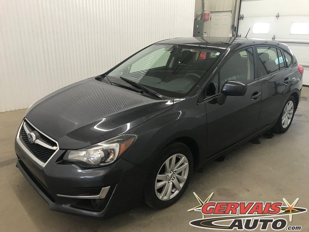 Subaru Impreza 2015 Touring AWD Mags Bluetooth Cam?ra de recul