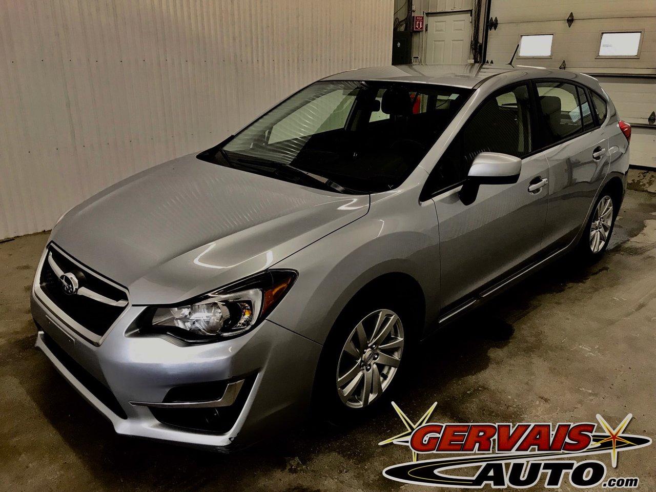 Subaru Impreza 2016 Touring AWD Hatchback MAGS Bluetooth Cam?ra