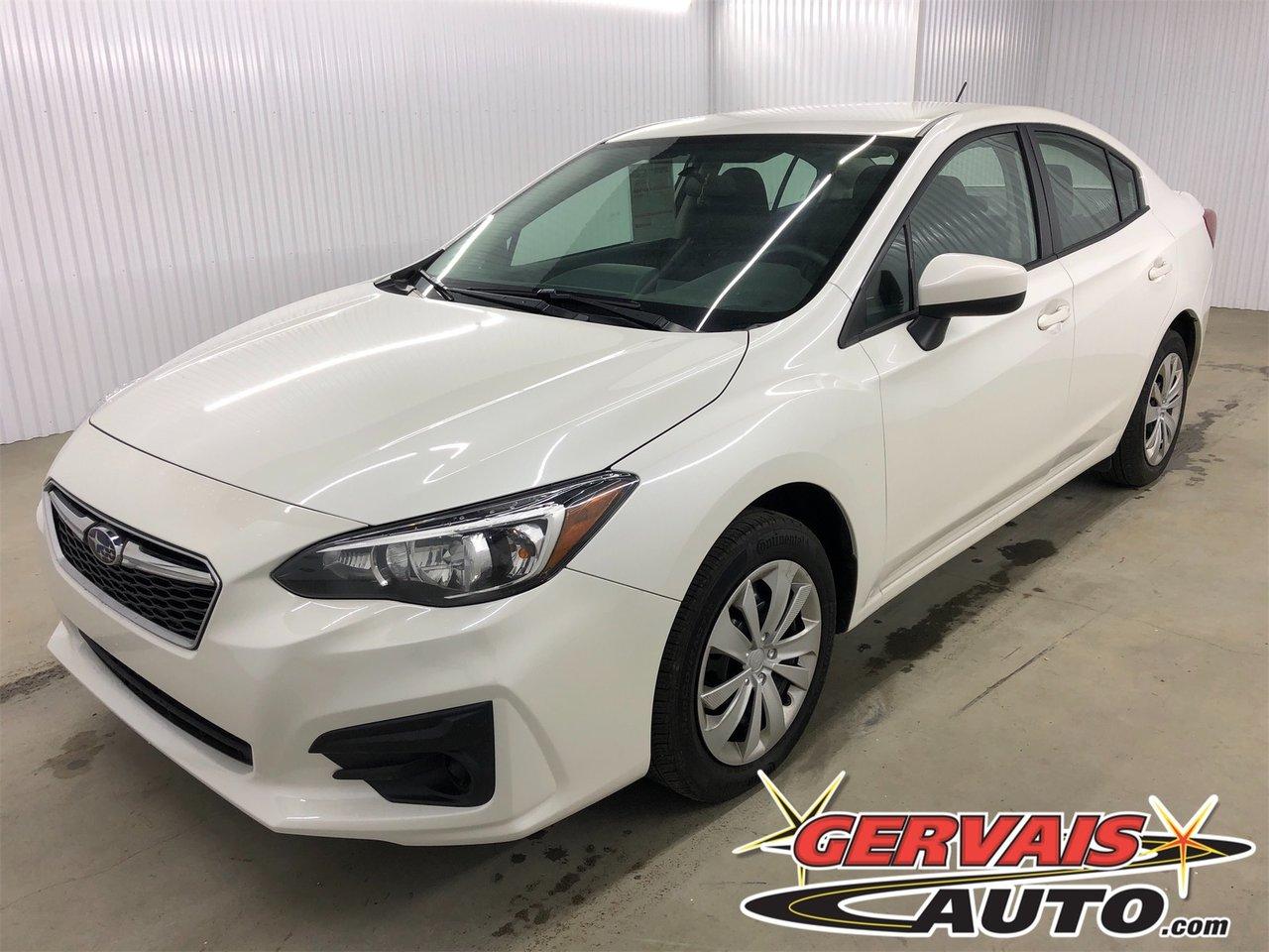 Subaru Impreza 2017 AWD Bluetooth A/C Cam?ra de recul