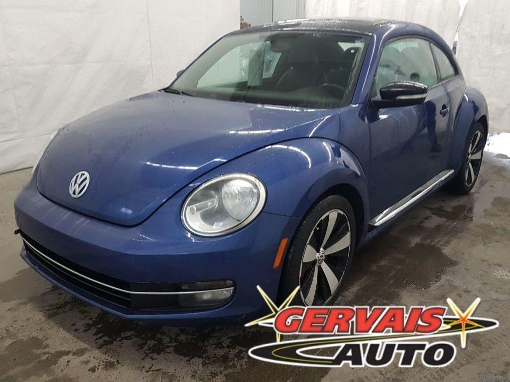 Volkswagen Beetle 2012 2.0T Turbo Sportline GPS Cuir Toit Ouvrant MAGS