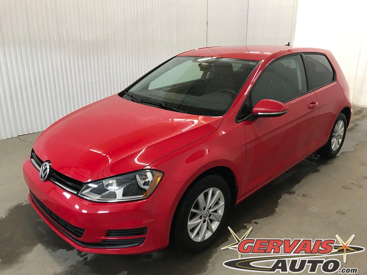 Volkswagen Golf 2015 Trendline Tsi A/C Bluetooth Si?ges Chauffants Mags