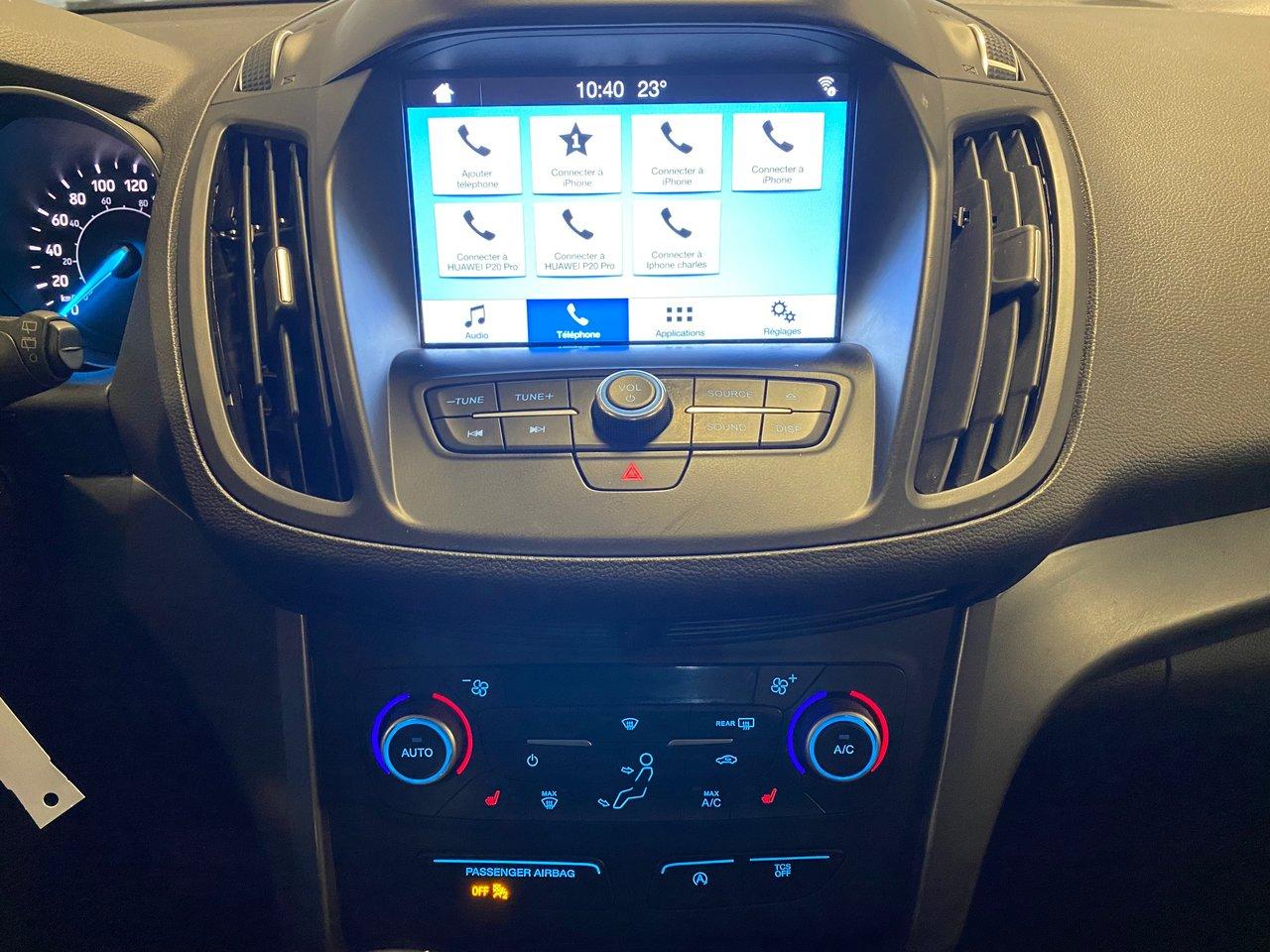 2018 Ford Escape SEL AWD 4WD AWC CUIR MOTEUR 2.0L