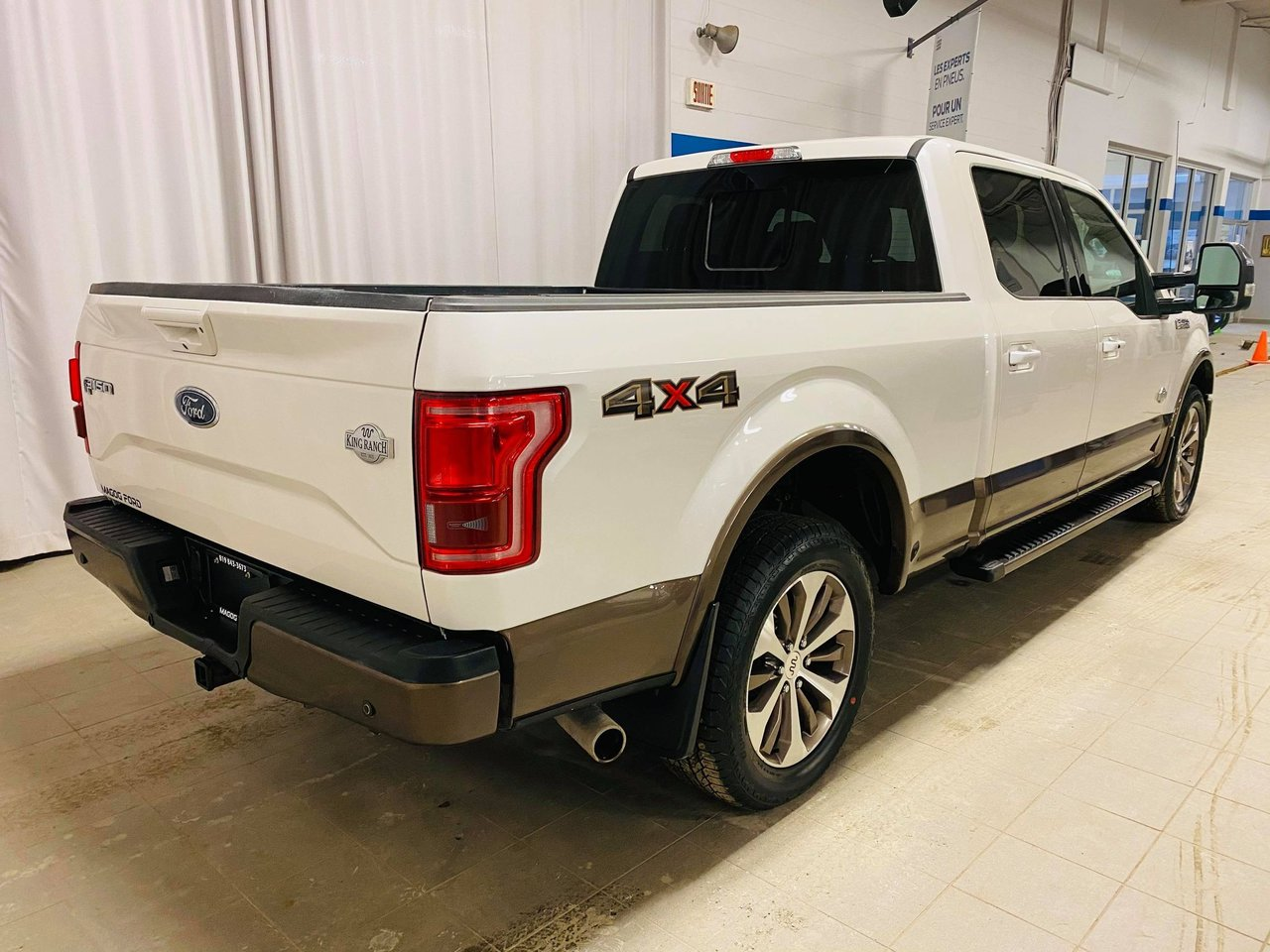 2017 Ford F-150 4WD SuperCrew 157  King Ranch
