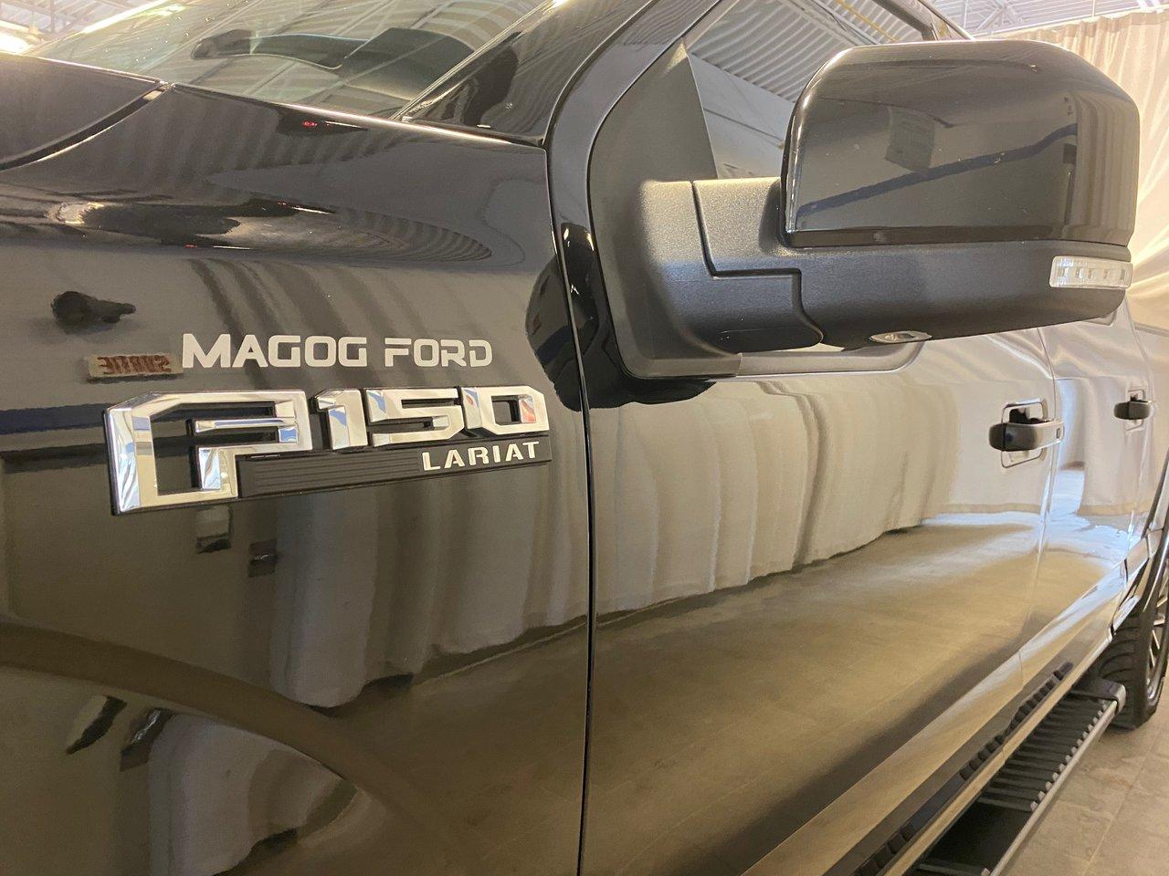 2018 Ford F-150 LARIAT 5.0L V8 501A BOITE 6.5 NAVI + CUIR