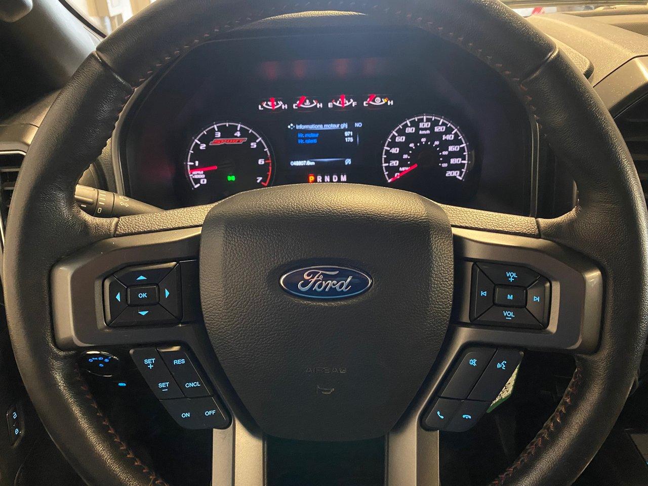 2018 Ford F-150 XLT 302A 3.5L ECO 3.55 DIFF MAX TOW 6.5 DE BOITE