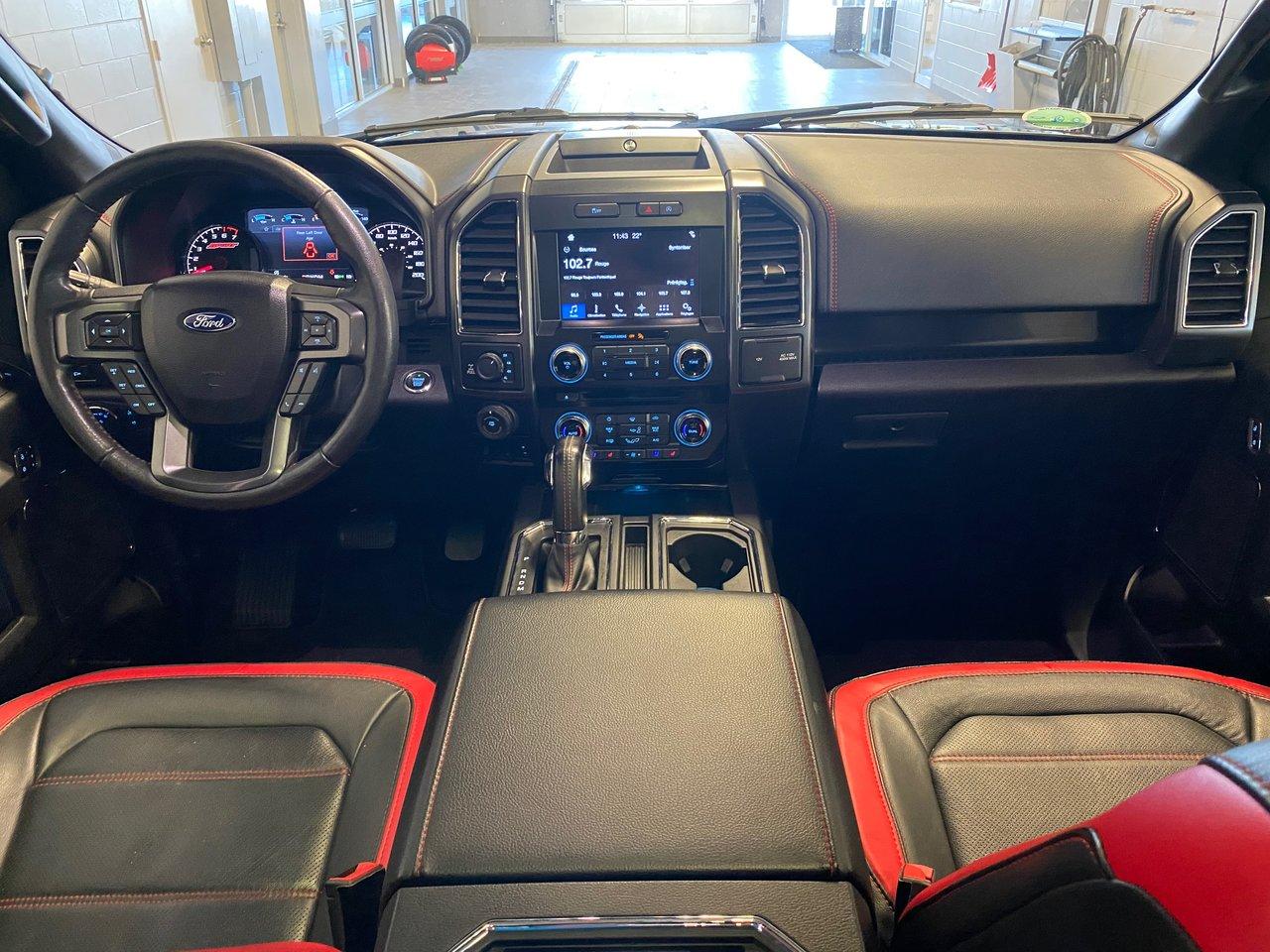 2018 Ford F-150 LARIAT SPEC  502A 3.5L ECO BOITE DE 6.5 DIFF 3..55