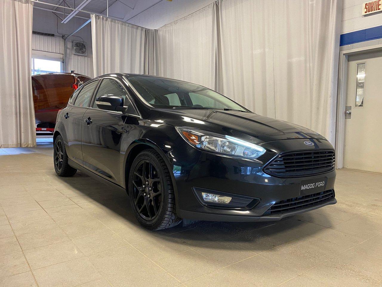 2016 Ford Focus SE AVEC ENSEMBLE BLACK APPARENCE