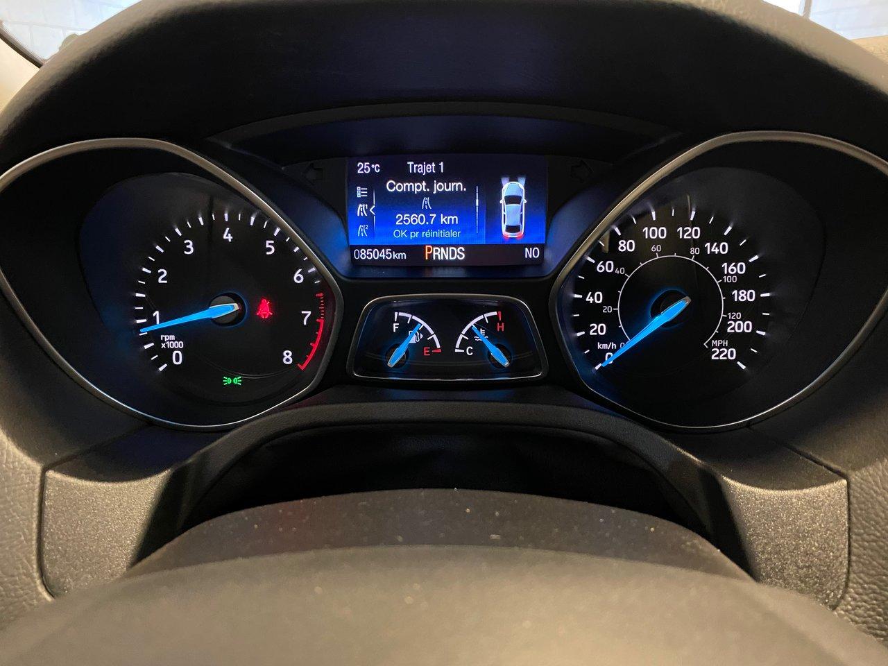 2016 Ford Focus SE HATCHBACK JAMAIS ACCIDENTE AVEC WINTER PACK