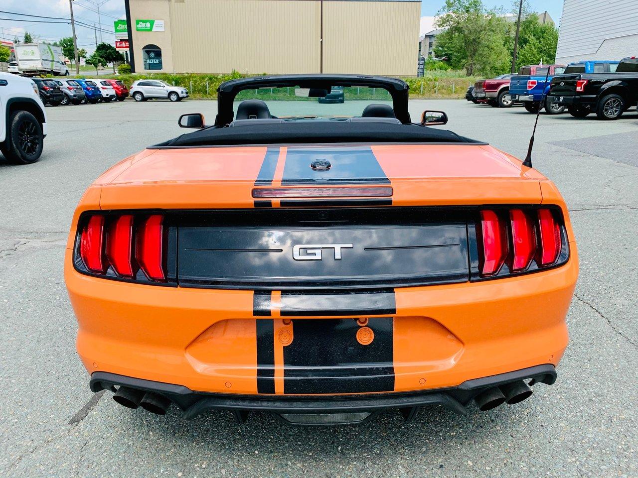 2021 Ford Mustang GT Premium Convertible / 460HP + 420 LB-PI