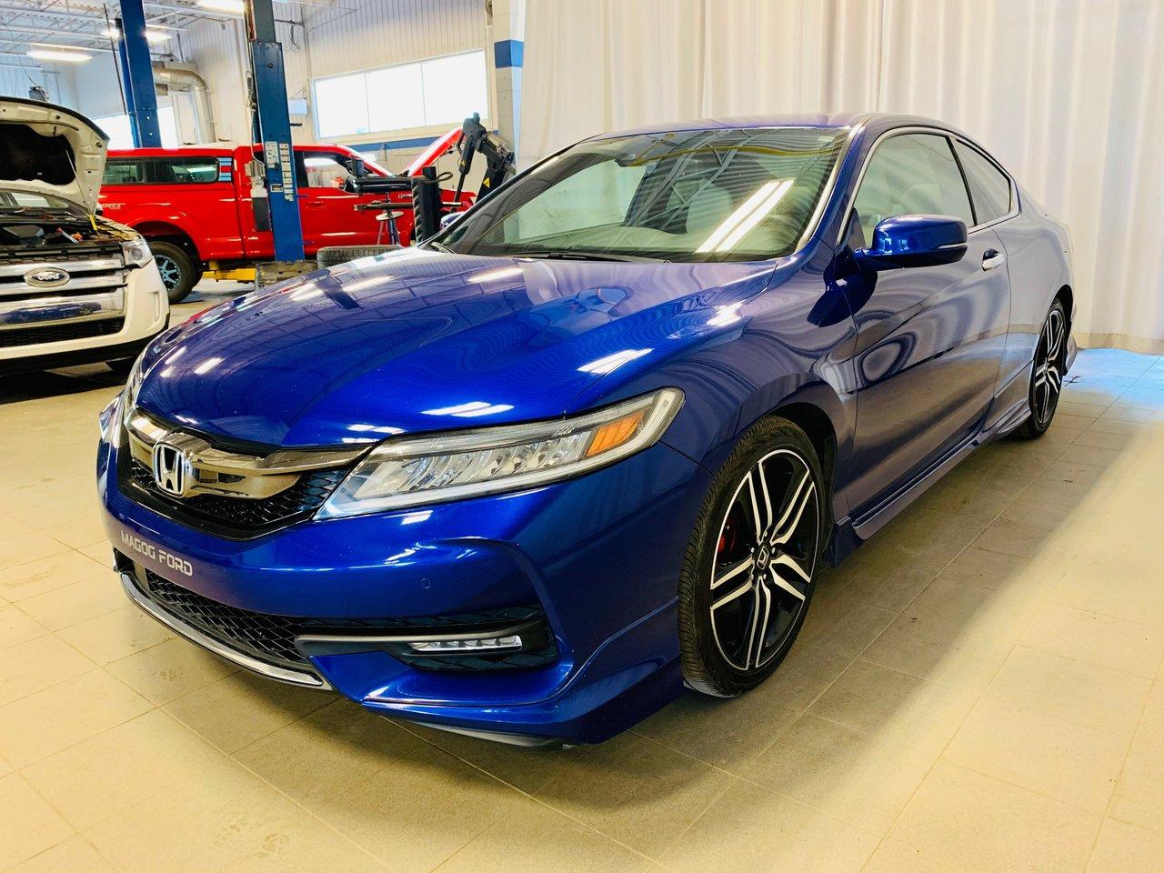 2016 Honda Accord Coupe Touring / JAMAIS ACCIDENTEE