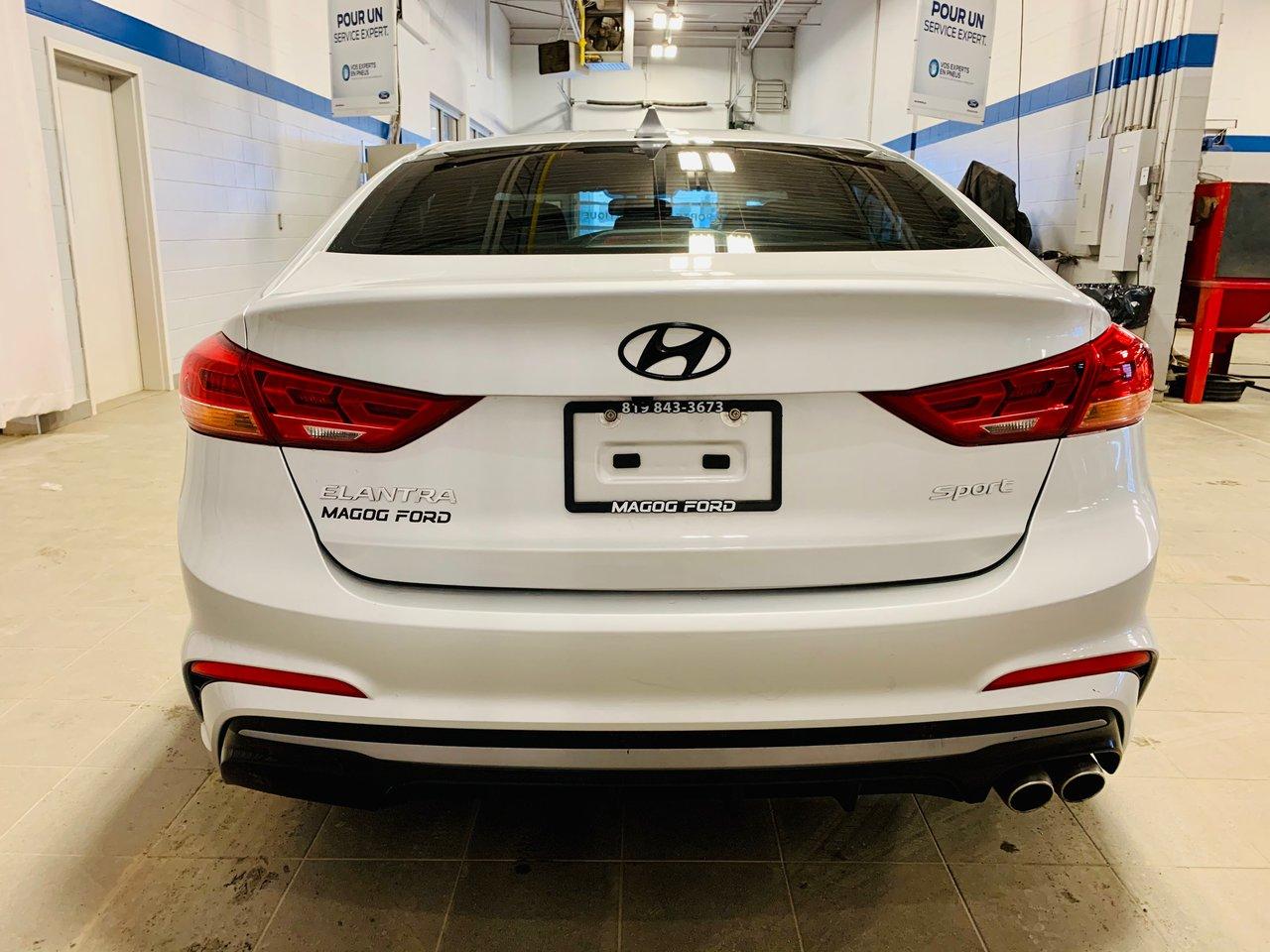 2018 Hyundai Elantra Turbo / JAMAIS ACCIDENTEE