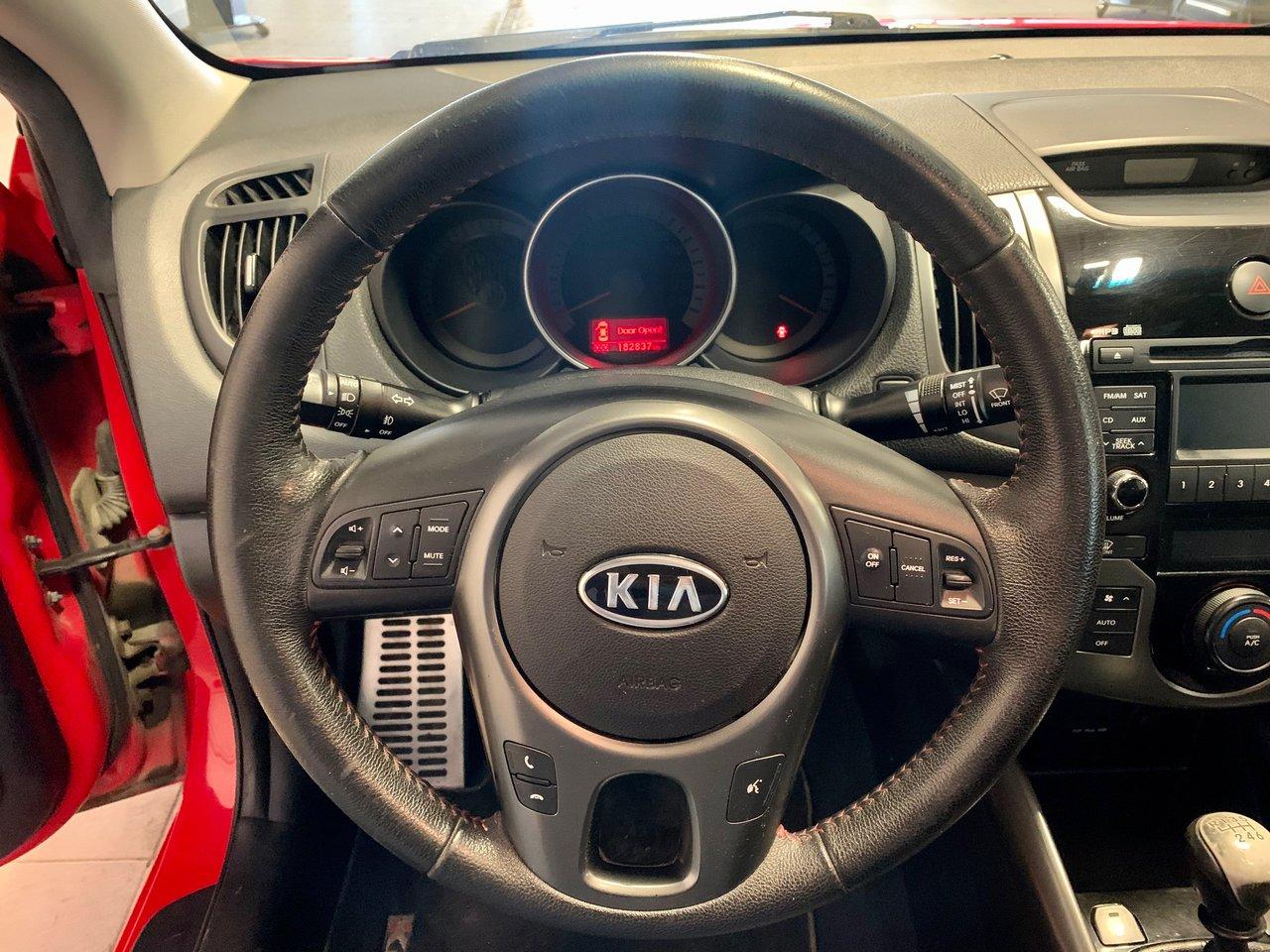 2011 Kia Forte Koup SX / SIÈGES CHAUFFANTS + CUIR JAMAIS ACCIDENTEE
