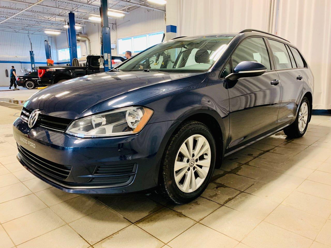 2017 Volkswagen GOLF SPORTWAGEN TSI TRENDLINE DSG 4MOTION / JAMAIS ACCIDENTEE