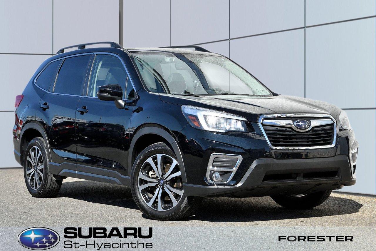 Subaru Forester 2020 Limited, eyesight, navigation, cuir, apple ca
