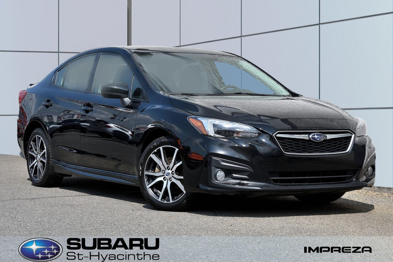 Subaru Impreza 2018 Sport, apple carplay, android auto, toit ouvr