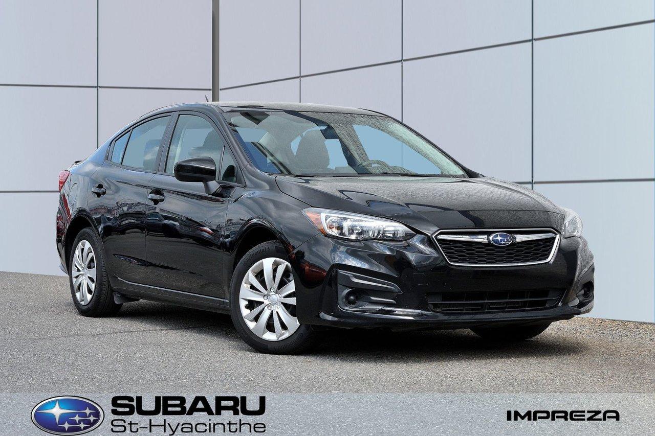 Subaru Impreza 2019 Convenience, apple carplay, android auto, blu