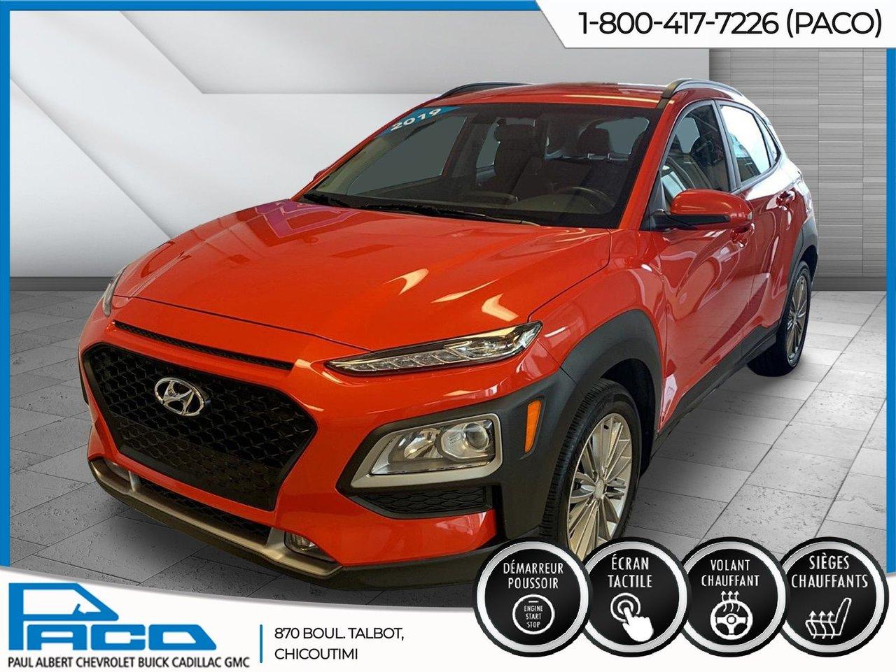 2019 Hyundai  Kona PRIVILÉGIÉ