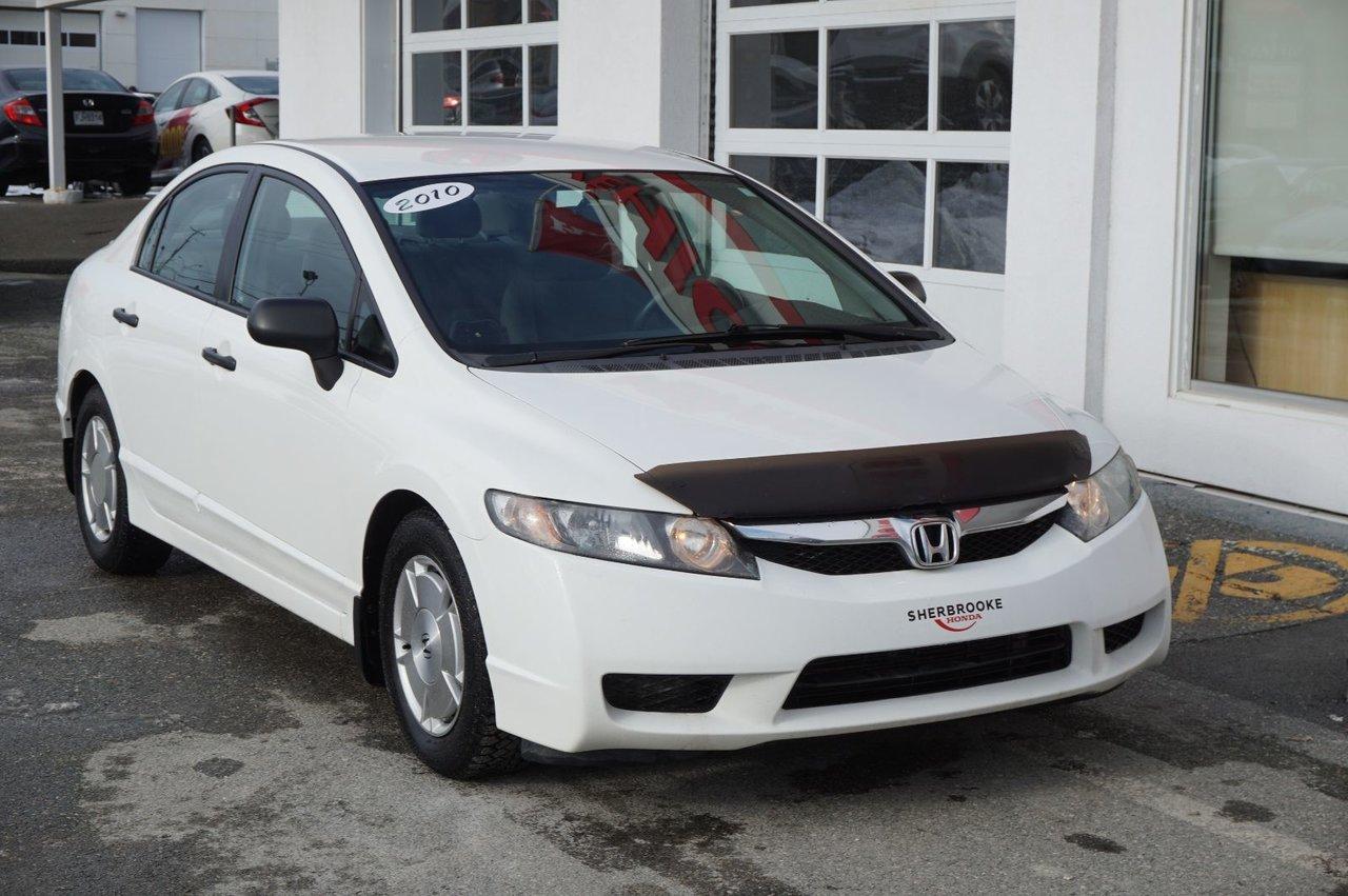 2010 Honda  Civic Berline DX-G, air climatisé, groupe électrique.