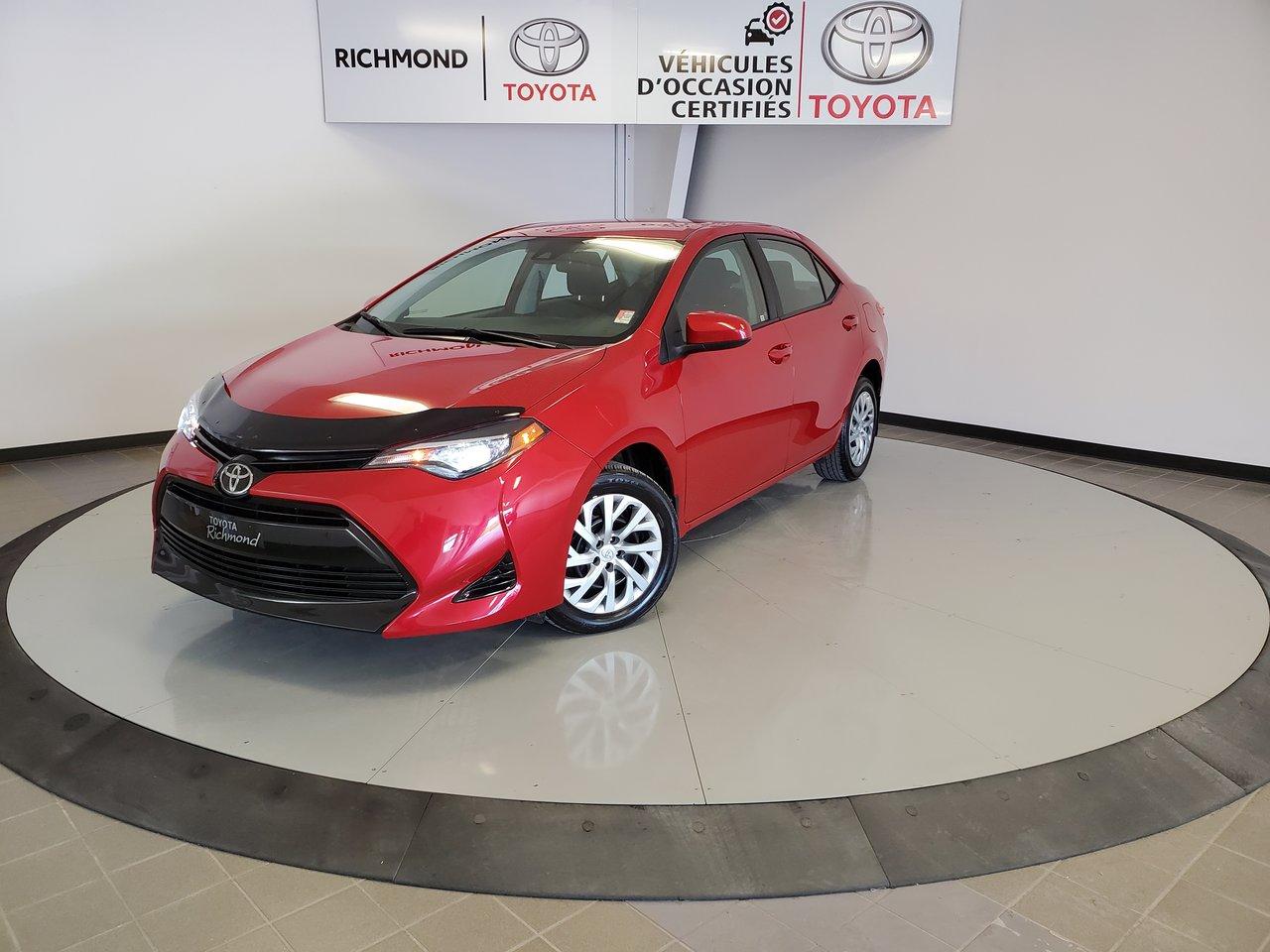 Toyota Corolla 2017 LE Gr:A *CAMÉRA + SIÈGES CHAUFFANTS*