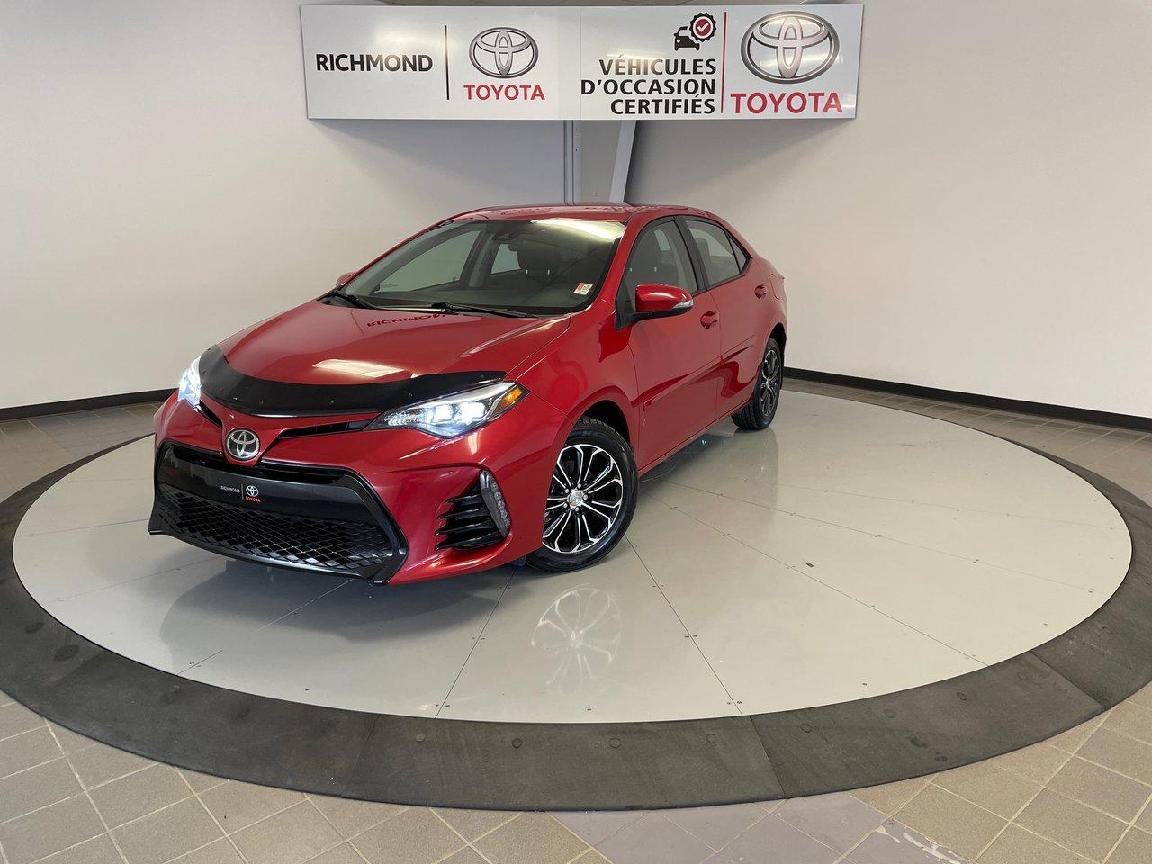 Toyota Corolla 2019 SE Gr:A *CAMÉRA + SIÈGES CHAUFFANTS*