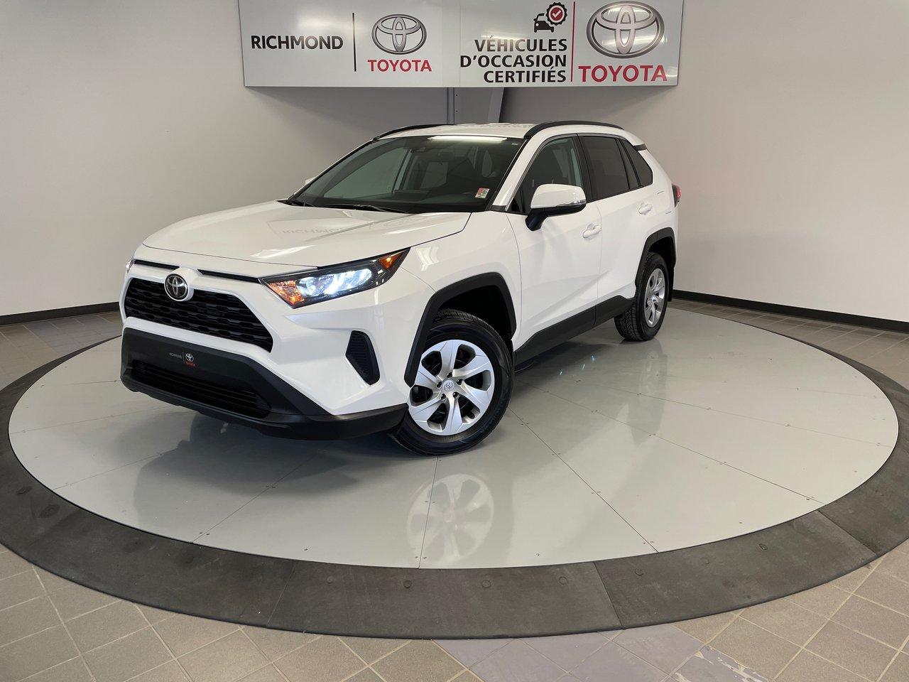 Toyota RAV4 2021 LE AWD Gr:A *BAS KILOMÉTRAGE*