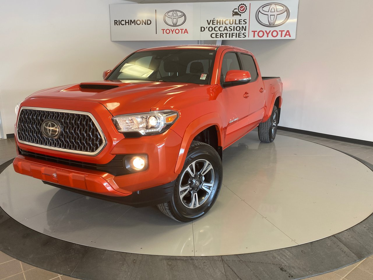 Toyota Tacoma 2018 CABINE DOUBLE TRD Gr:B