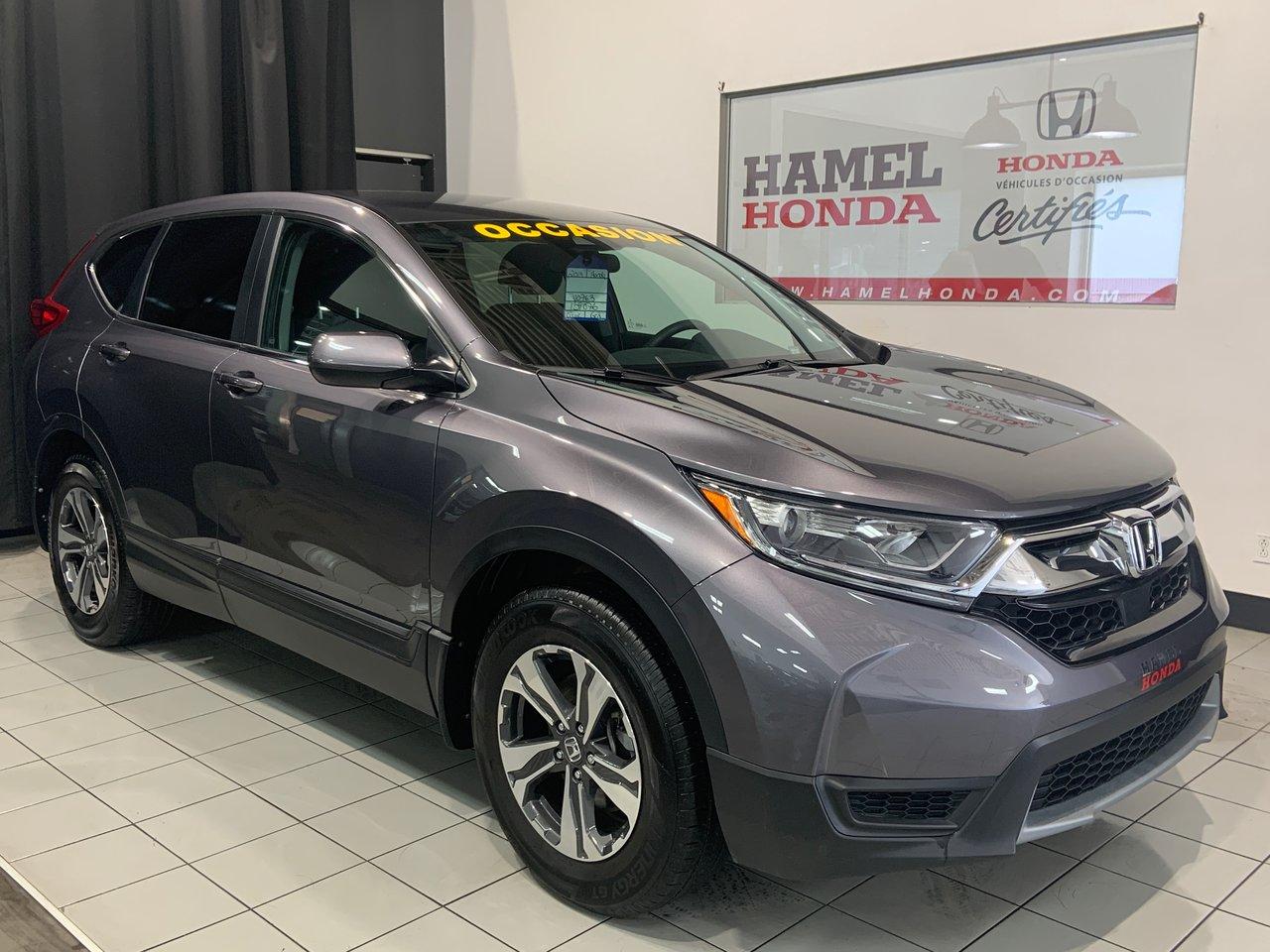 Honda CR-V 2019 LX AWD SEULEMENT 31080KM