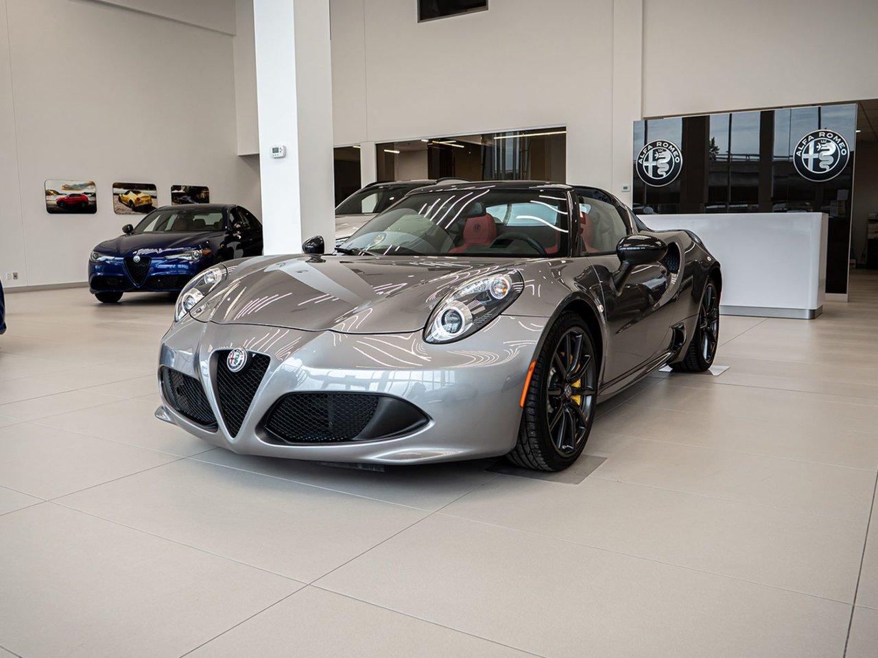 2019 Alfa romeo  4C Spider Akropovic exhaust NEW CAR