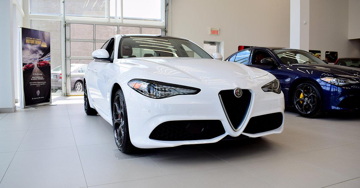 2018 Alfa romeo  GIULIA Ti Sport NEW