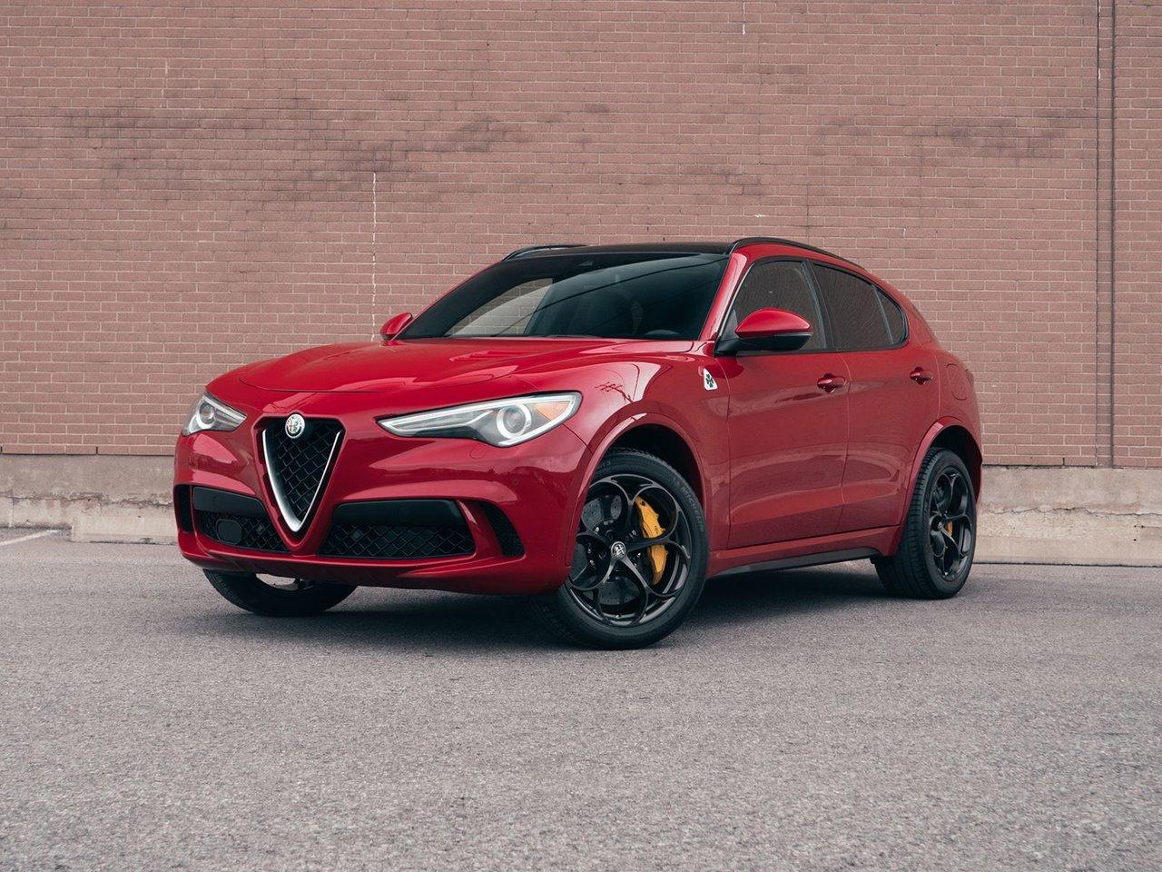 Alfa Romeo Stelvio 2019 Quadrifoglio Carbon ceramic brakes