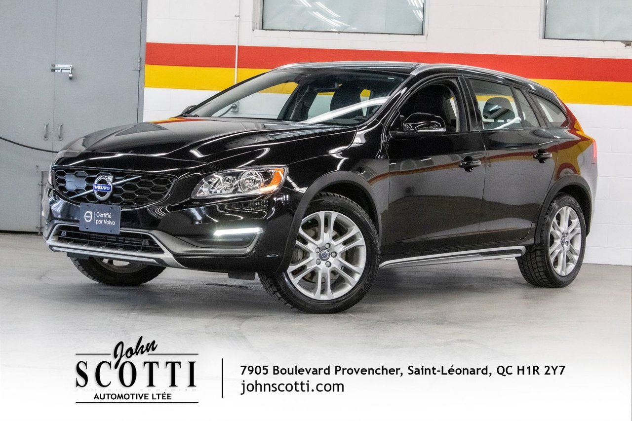 2016 Volvo  V60 Cross Country T5 AWD CLIMATE BLIS 0.9 %