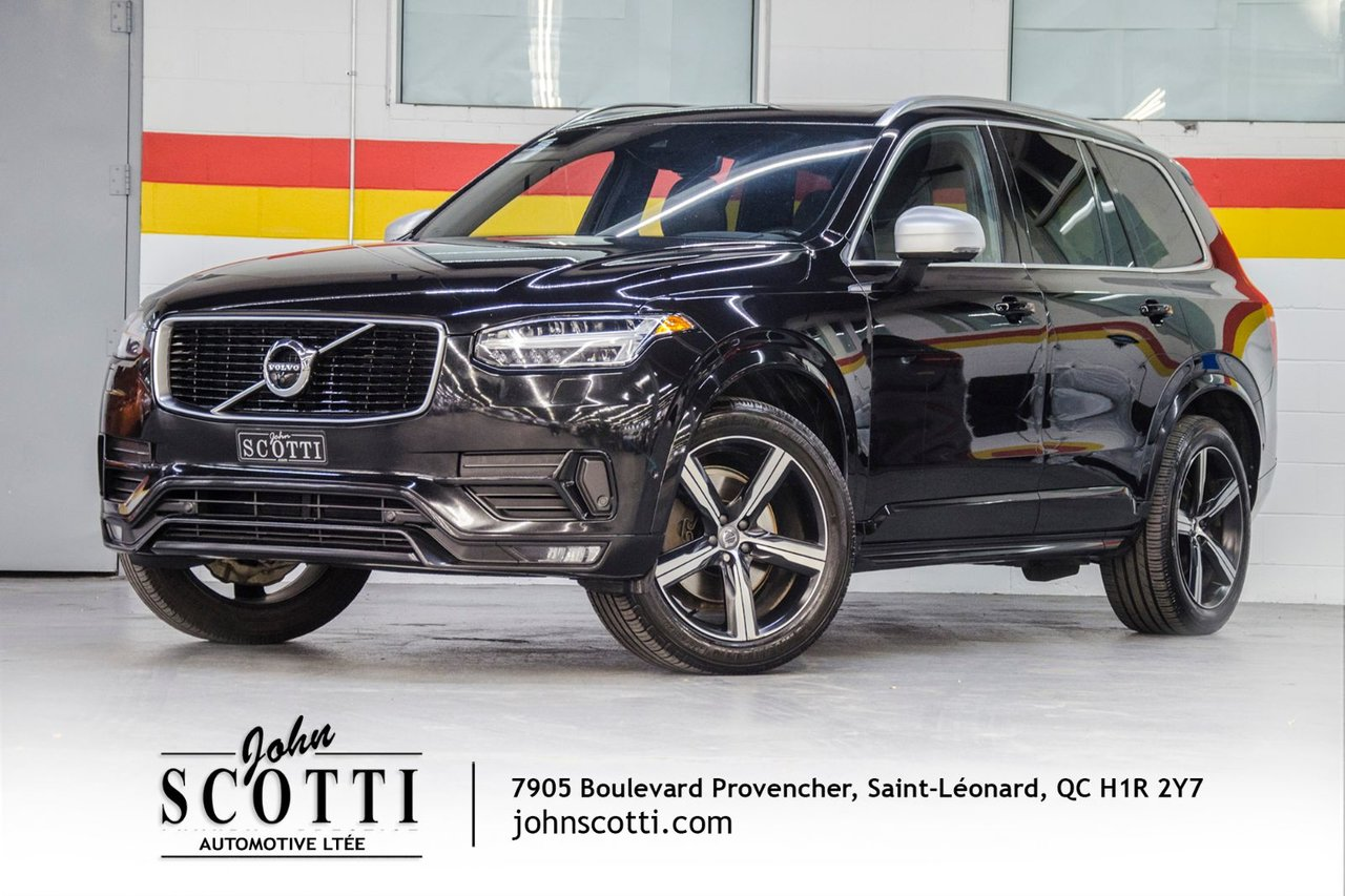 2016 Volvo  XC90 T6 R-Design 0.9% Certified By Volvo