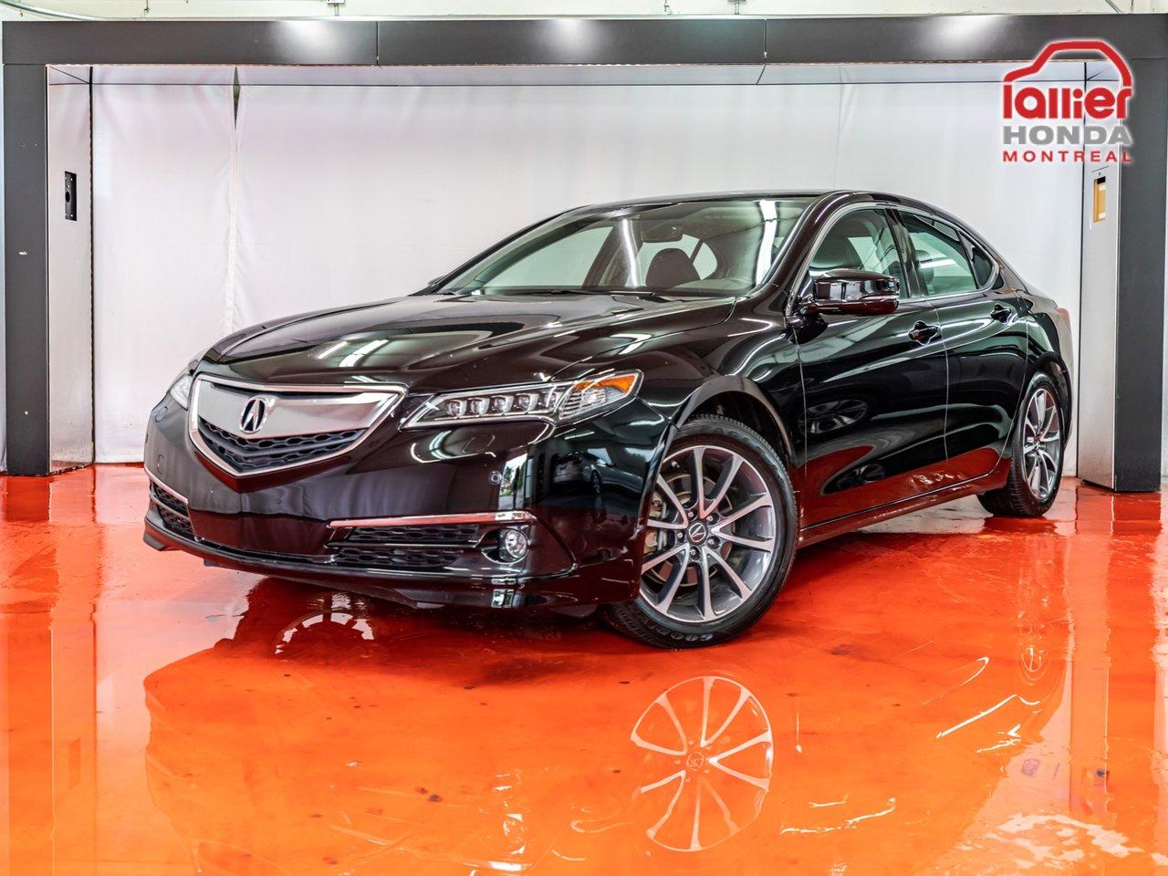 2015 Acura  TLX V6 Elite**NAV(GPS)**4X4 (AWD)**CAMÉRA DE RECU