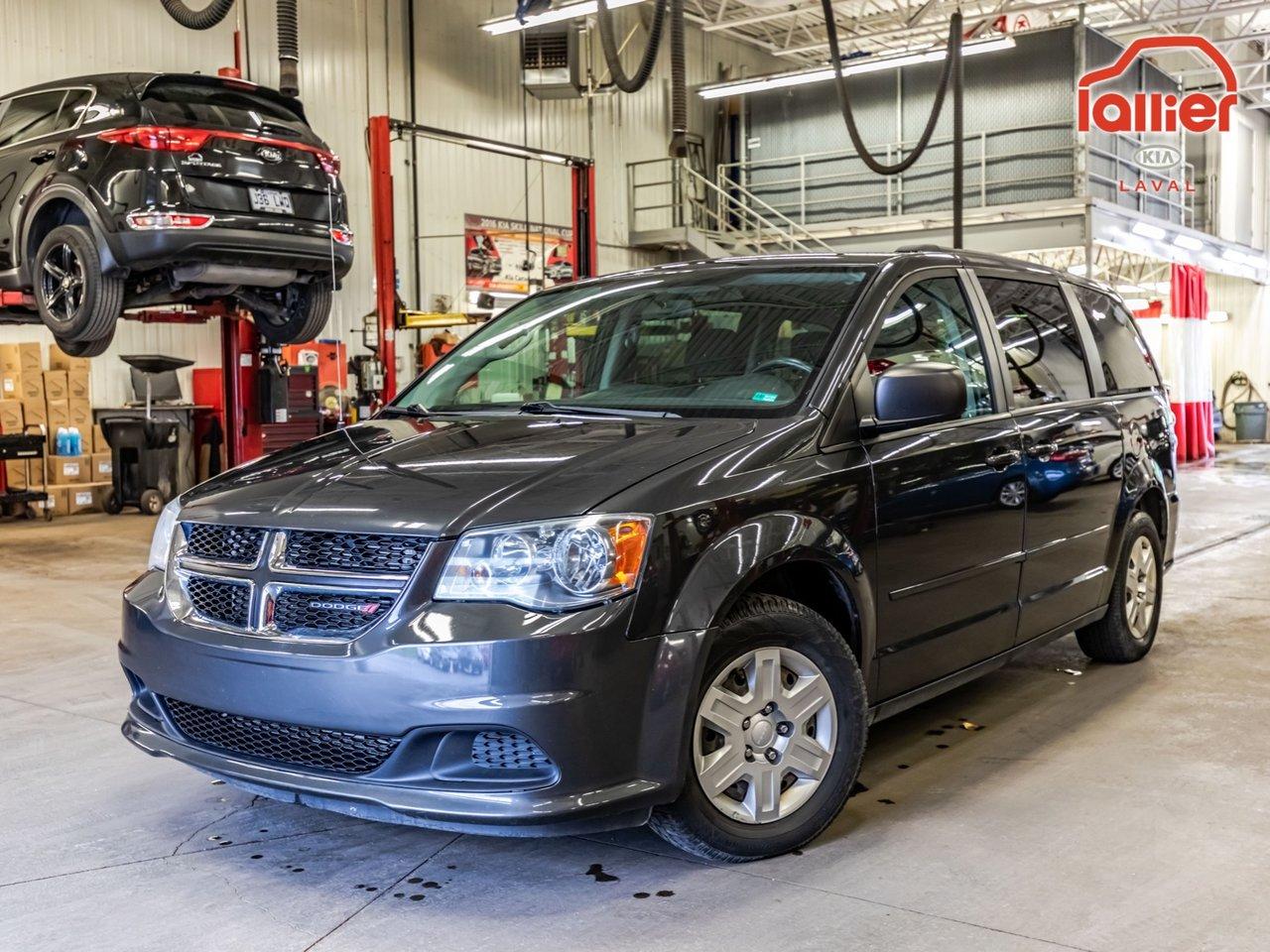 2012 Dodge  Grand Caravan ****STOW 'N GO + A/C + JAMAIS ACCIDENTÉ***