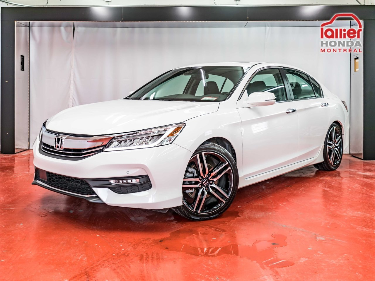 honda accord touring intrieur en cuir toit bluetooth 2016