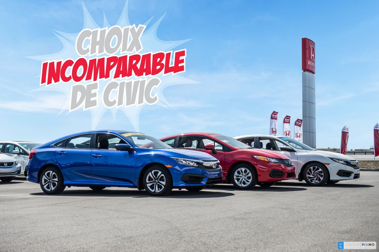 Honda Civic 2016 *VÉHICULE DE CATÉGORIE TEL QUEL