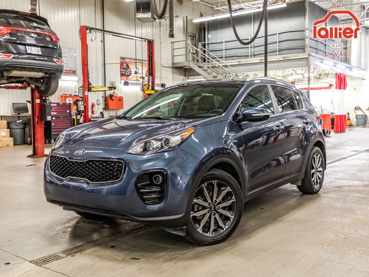 2017 Kia  Sportage ****EX TECH+AWD+GPS+CUIR+GARANTIE 10ANS/200,0