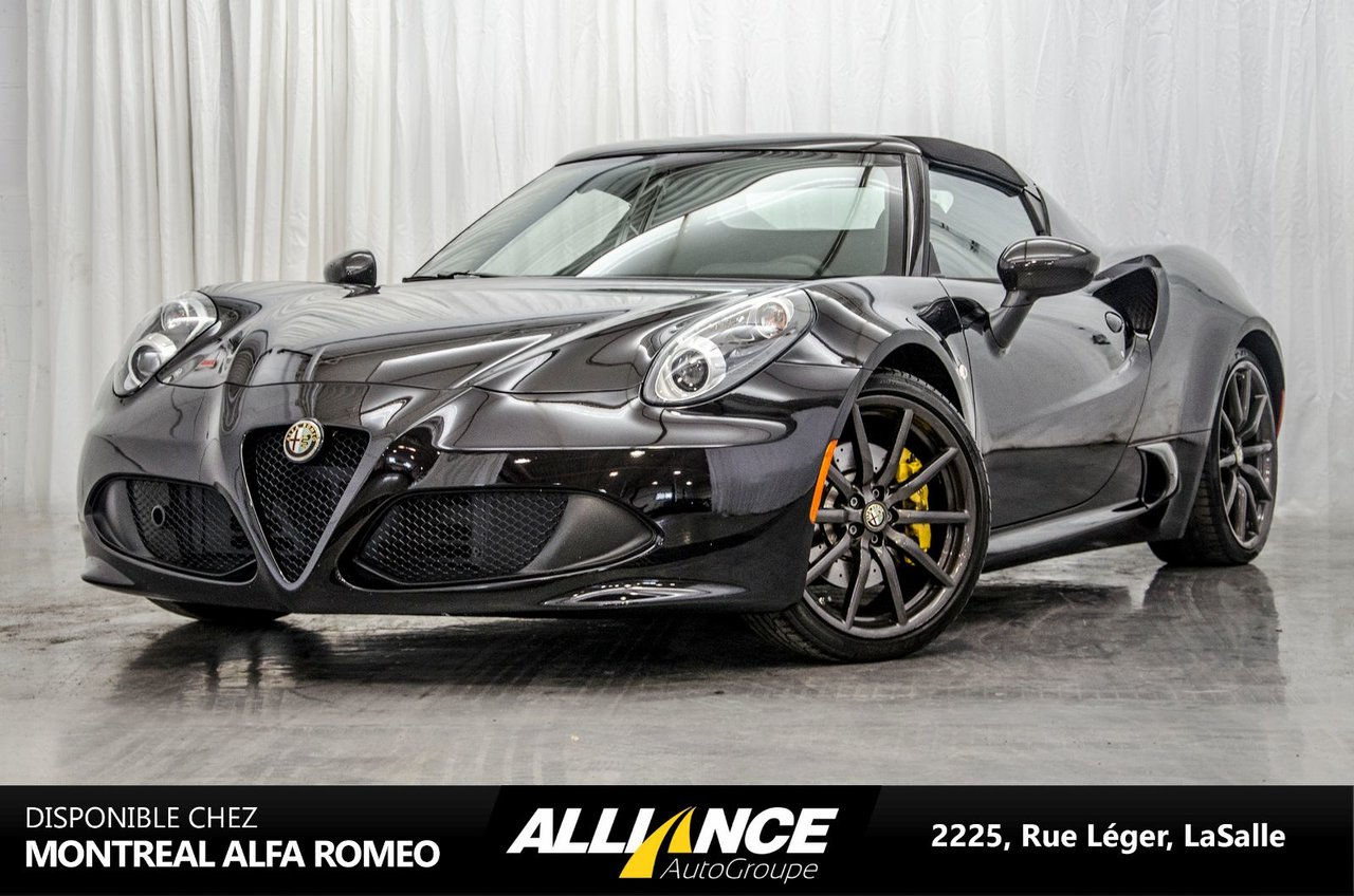 alfa romeo 4c 2016 d 39 occasion vendre chez lasalle chrysler. Black Bedroom Furniture Sets. Home Design Ideas