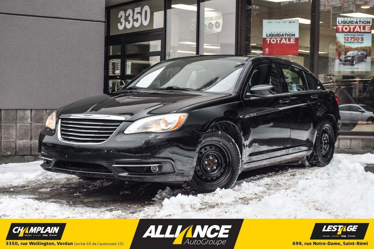 2012 Chrysler  200 TOURING - SIEGES CHAUFFANTS - A/C -