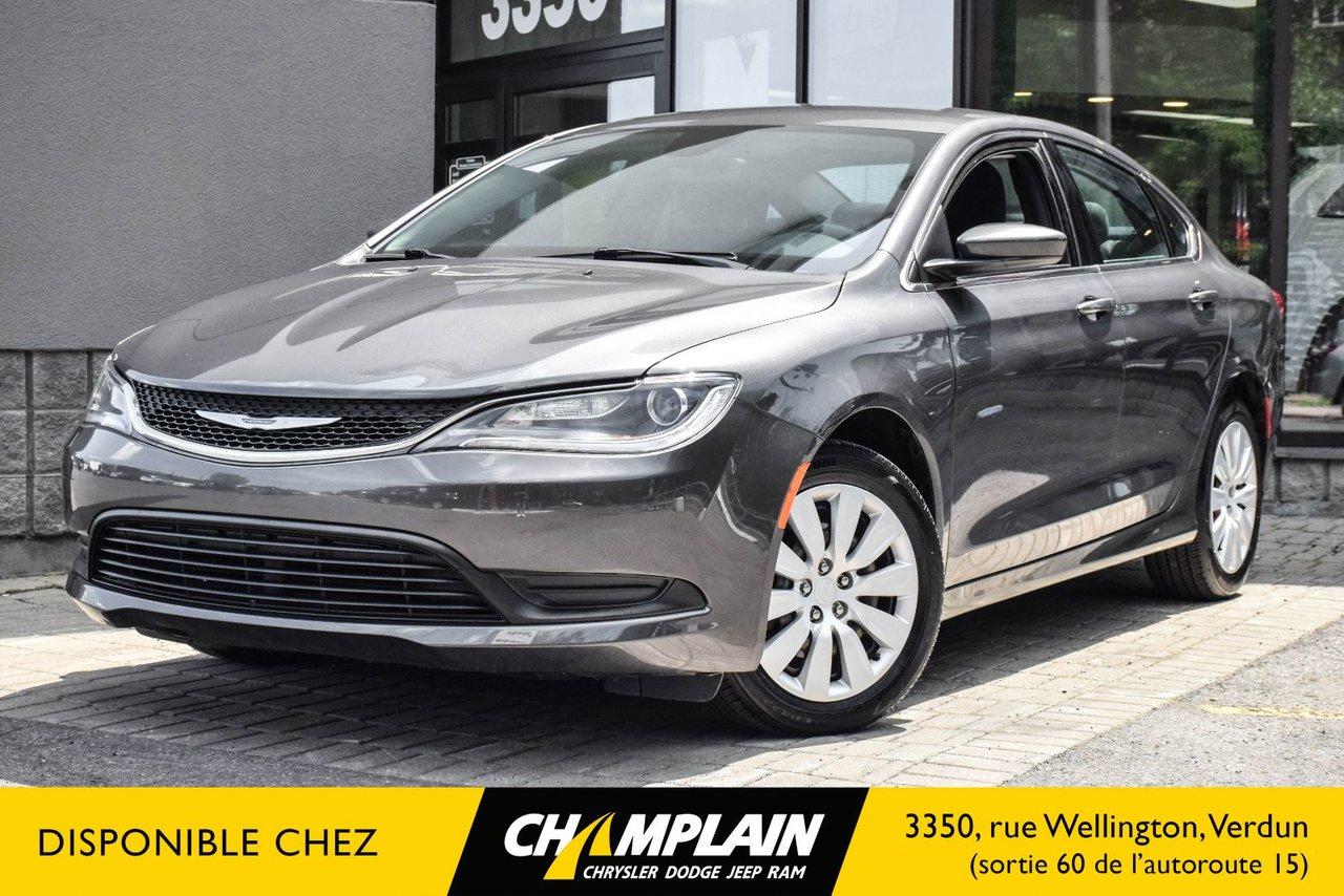 2015 Chrysler  200 LX | BLUETOOTH | REGULATEUR DE VITESSE |