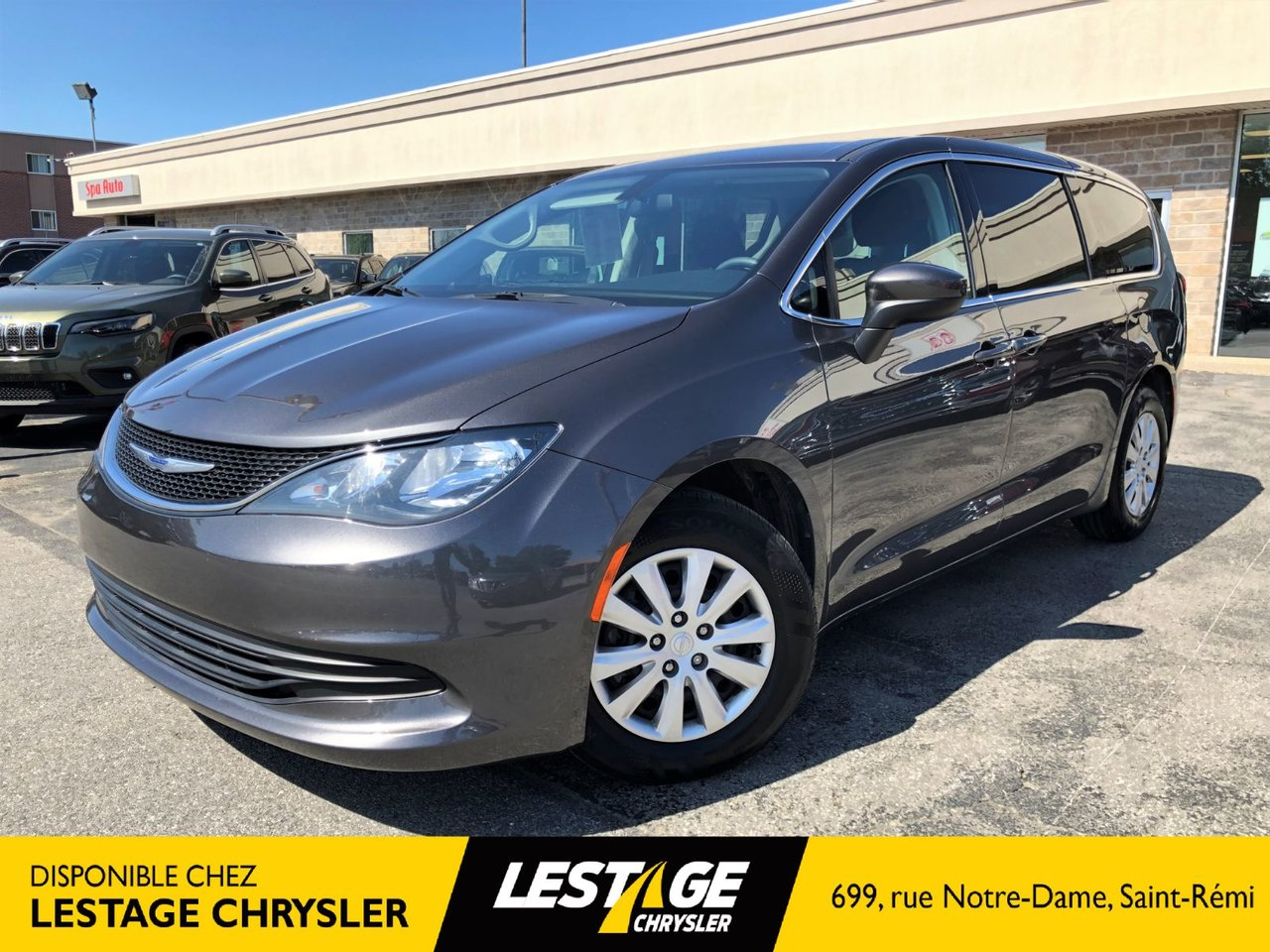2018 Chrysler  Pacifica LX   GR ELECTRIQUE  STOW' GO   BLUETOOTH   MA